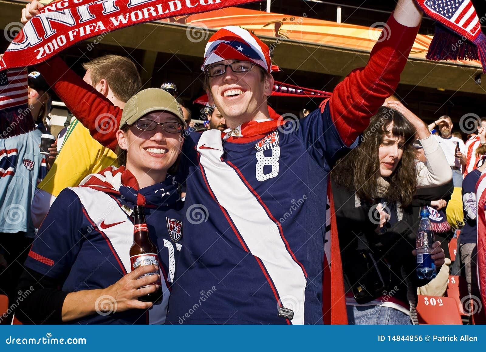 Υποστηρικτές ΑΜΕΡΙΚΑΝΙΚΟΥ ποδοσφαίρου - WC 2010 της FIFA