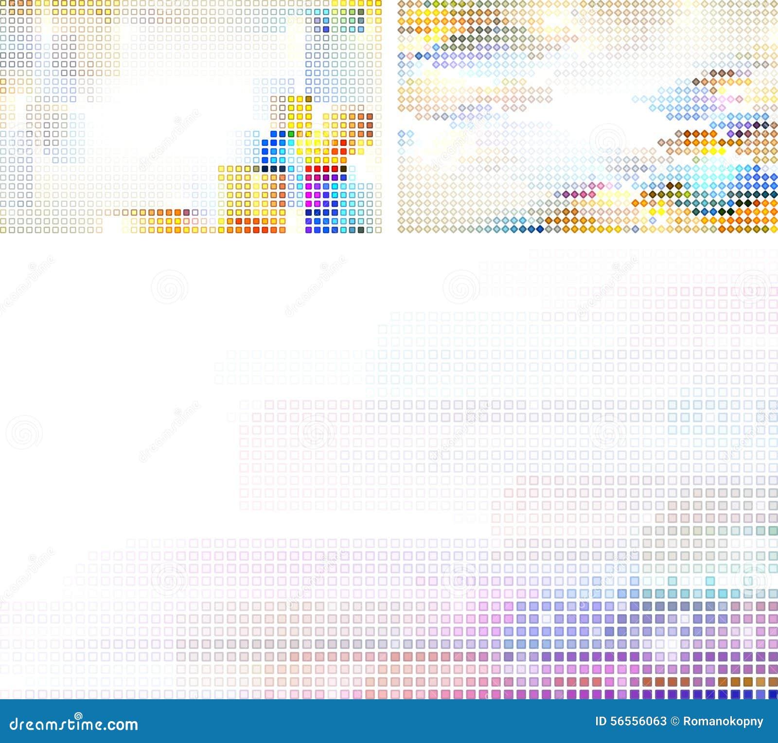 Download υπόβαθρα μωσαϊκών διανυσματική απεικόνιση. εικονογραφία από σημείο - 56556063