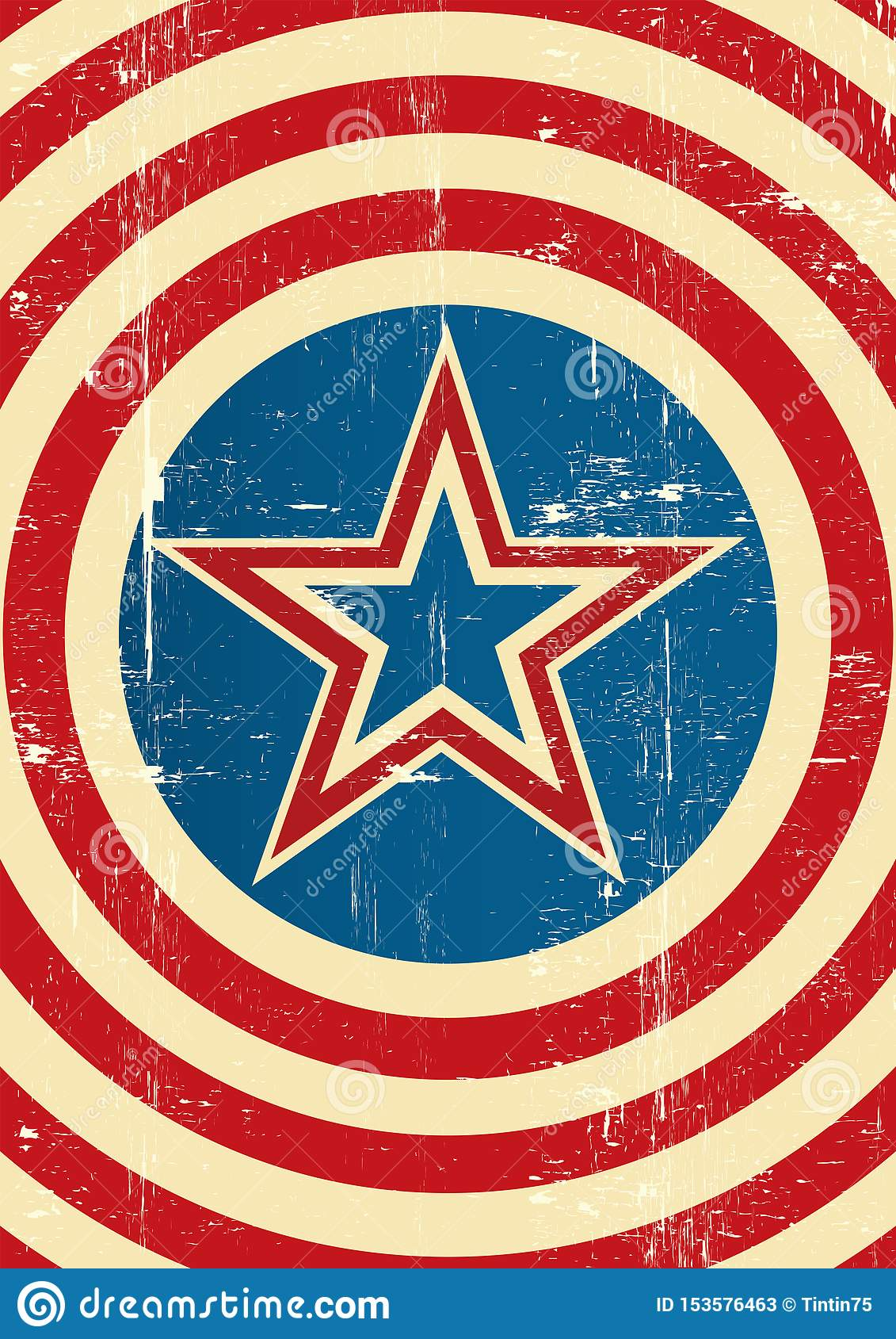 Υπόβαθρο αμερικανικού superhero