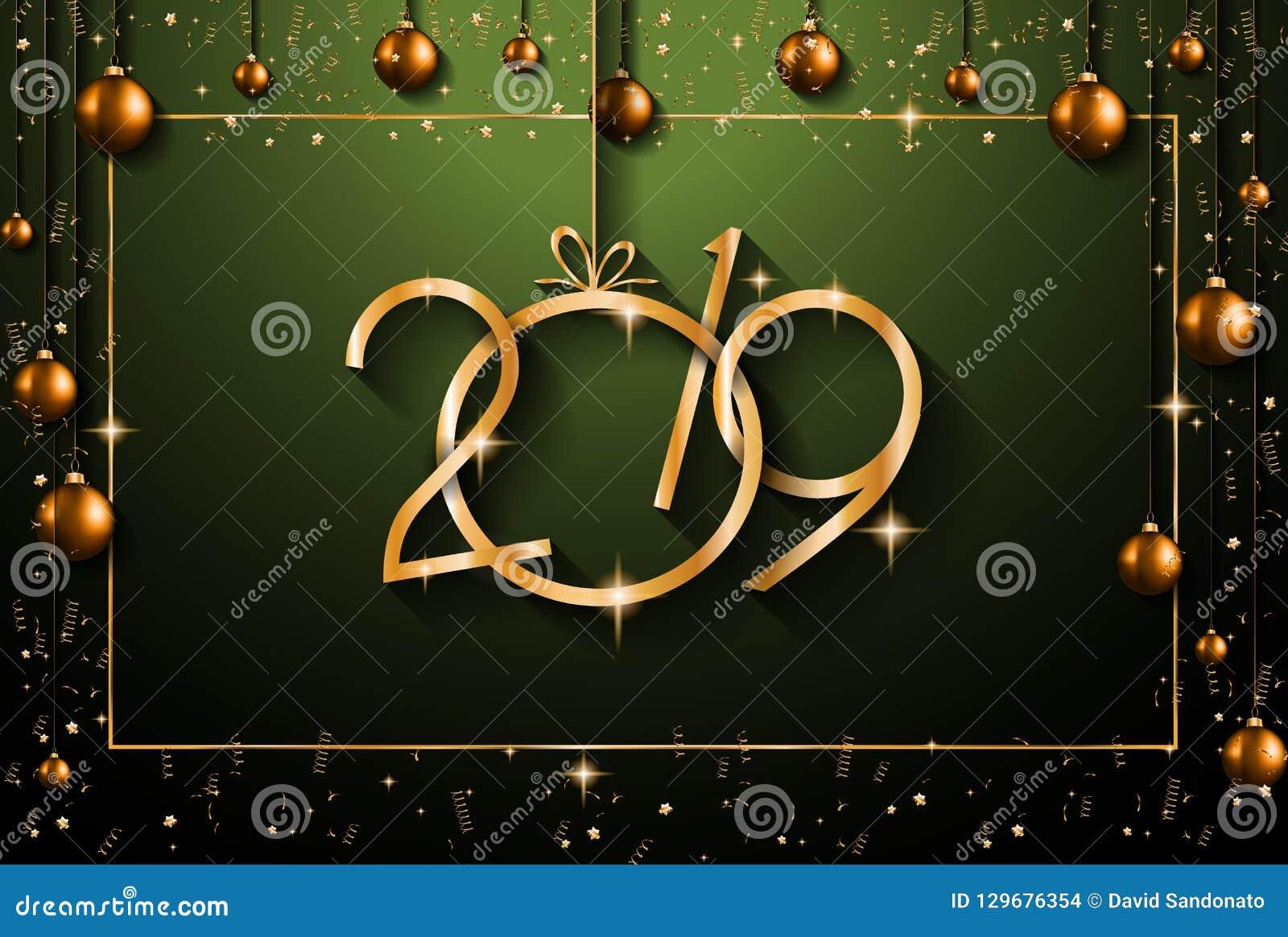2019 υπόβαθρο καλής χρονιάς για τα εποχιακά ιπτάμενα και το Gree σας