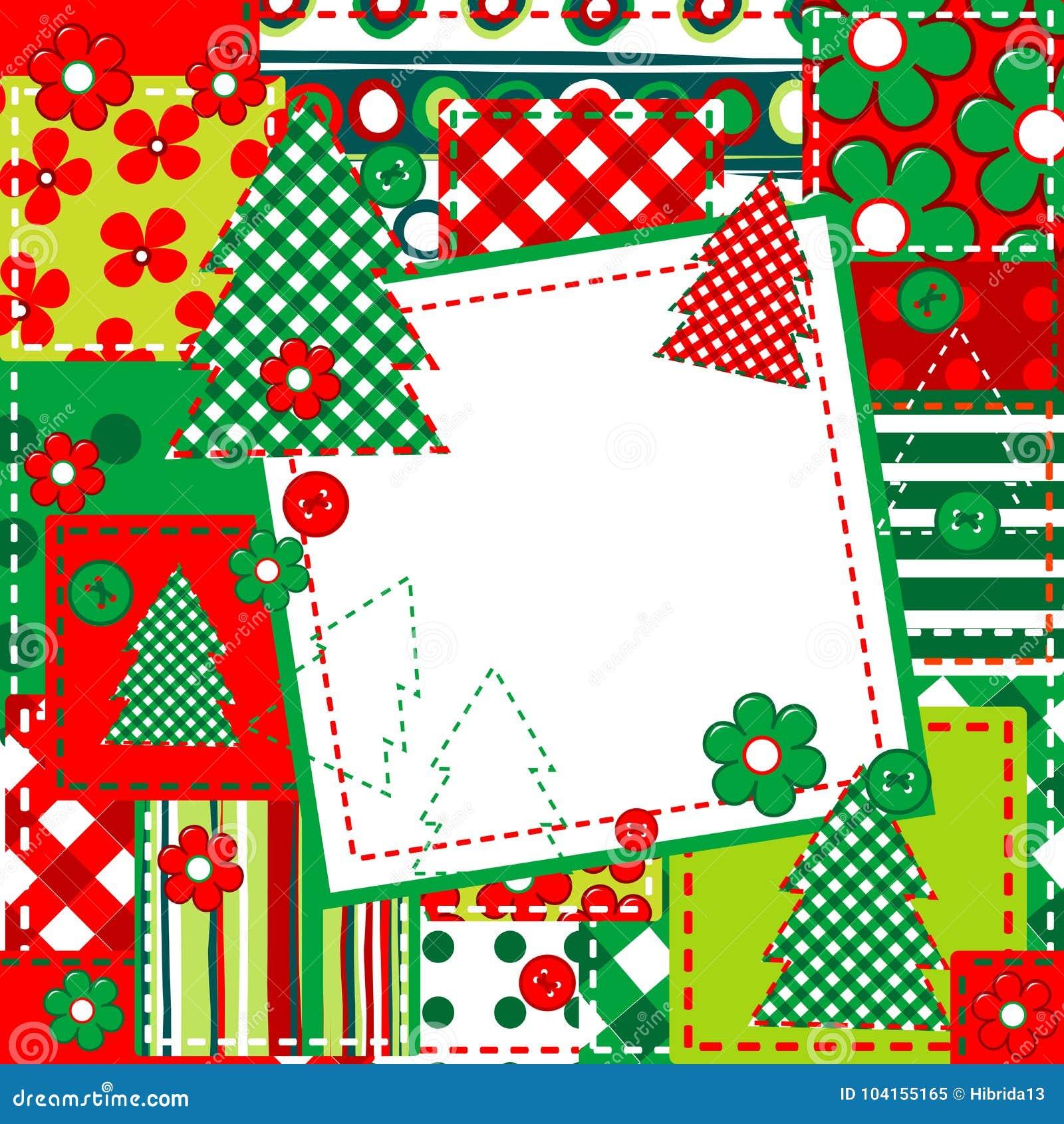 Υπόβαθρο λευκώματος αποκομμάτων για τα Χριστούγεννα