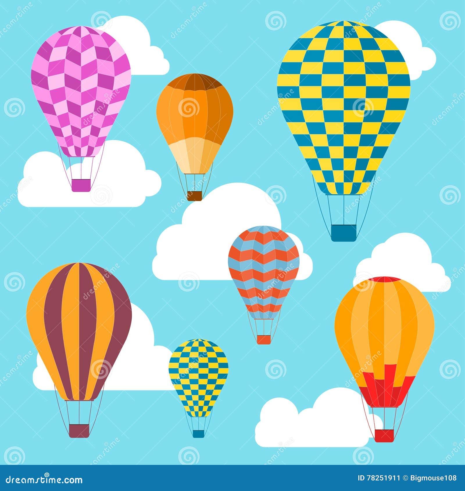 Υπόβαθρο μπαλονιών αέρα διάνυσμα