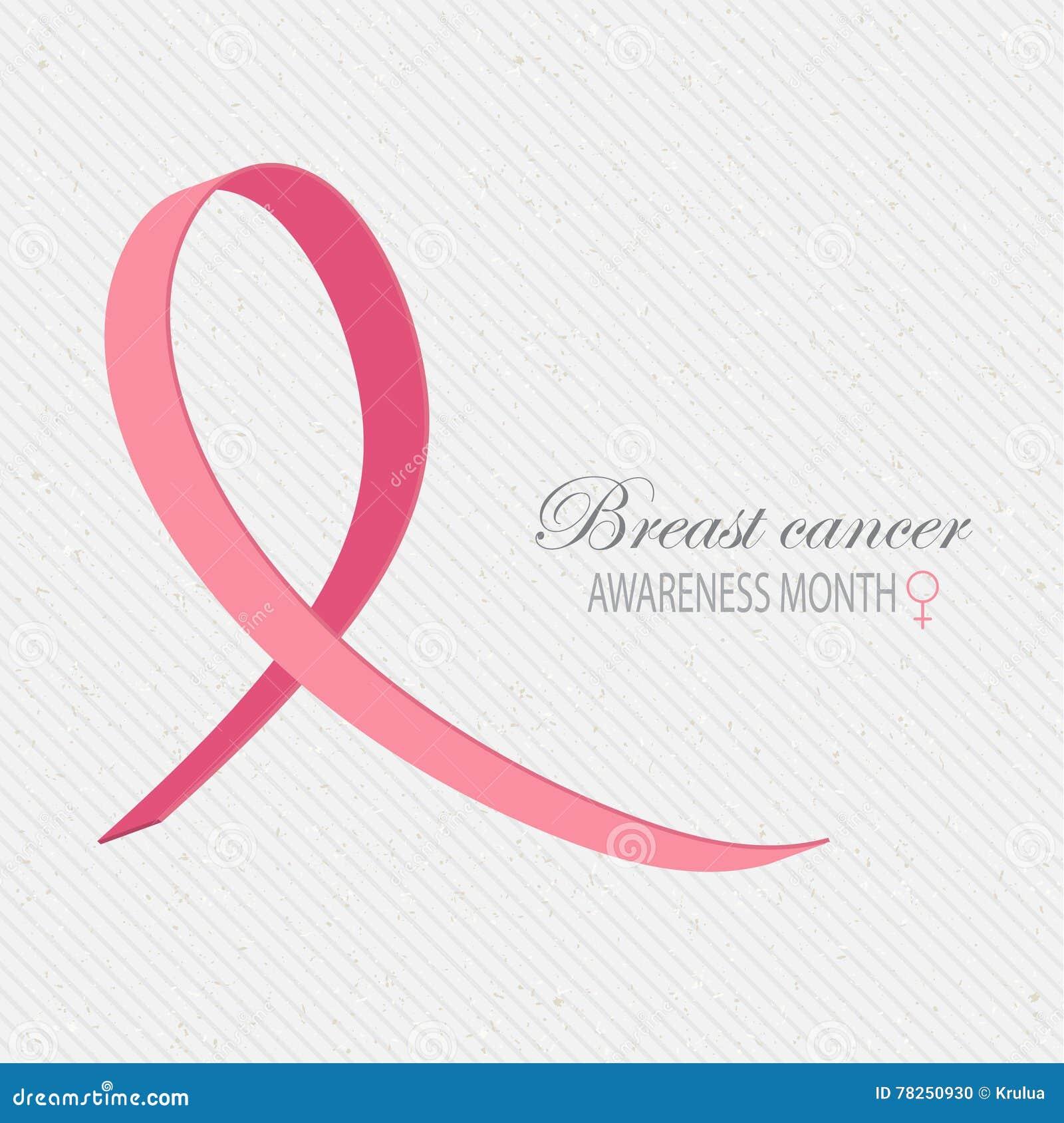 Υπόβαθρο συνειδητοποίησης καρκίνου του μαστού