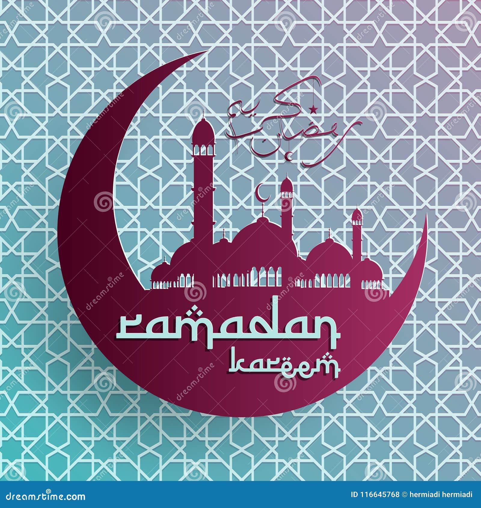 Υπόβαθρο του Kareem Ramadan, υπόβαθρο Ramadan Μουμπάρακ, ισλαμικό υπόβαθρο