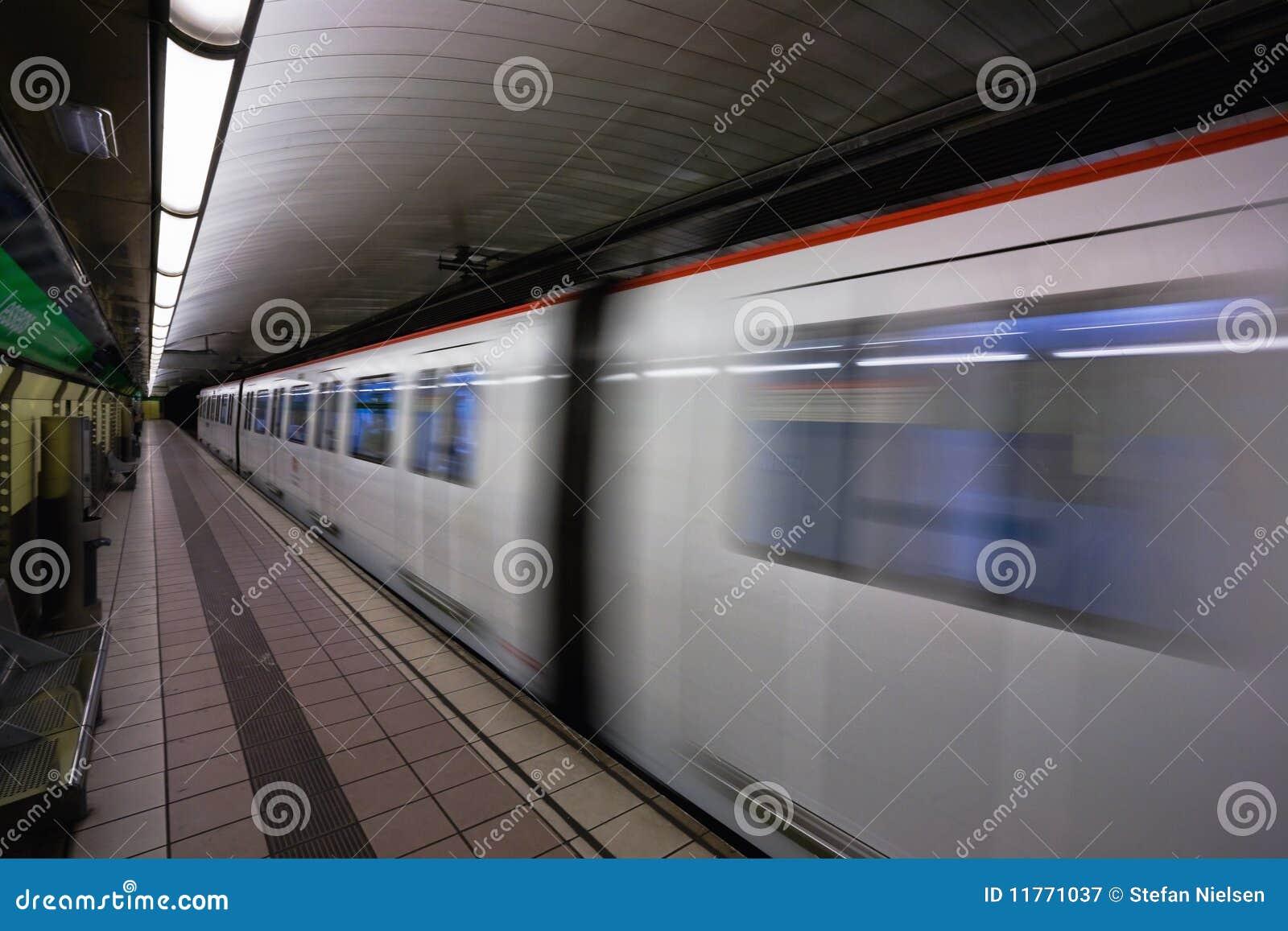 υπόγειο τρένο