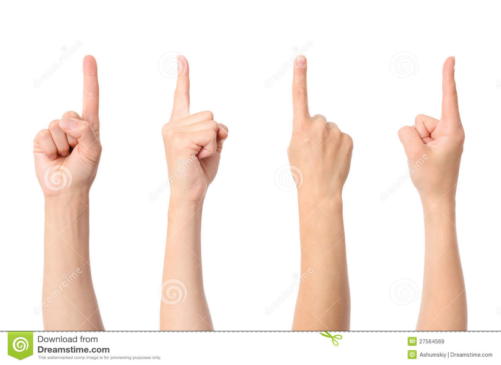 Υπόδειξη δάχτυλων χεριών