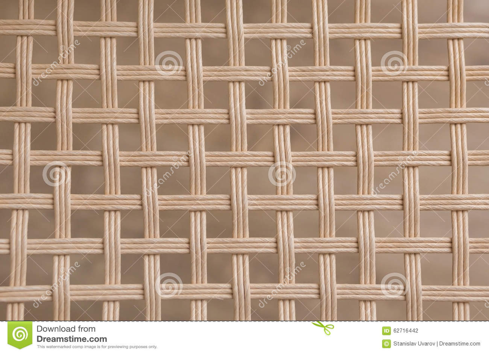 Υφαμένη μπαμπού ψάθινη τετραγωνική σύσταση σχεδίων