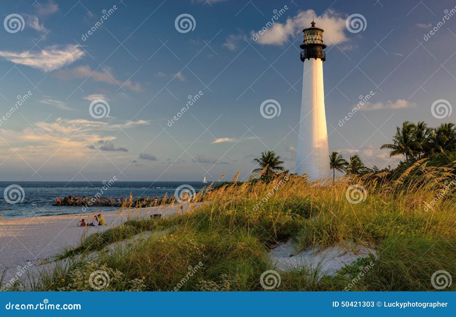 Φάρος στην παραλία, φάρος της Φλώριδας ακρωτηρίων