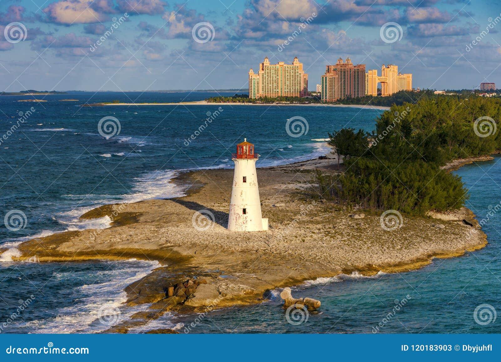 Φάρος στο νησί παραδείσου, Μπαχάμες