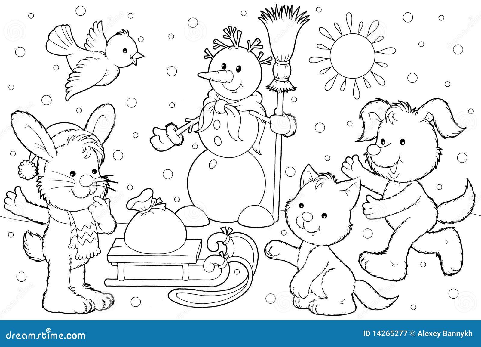 φίλοι ο χιονάνθρωπος το&upsil