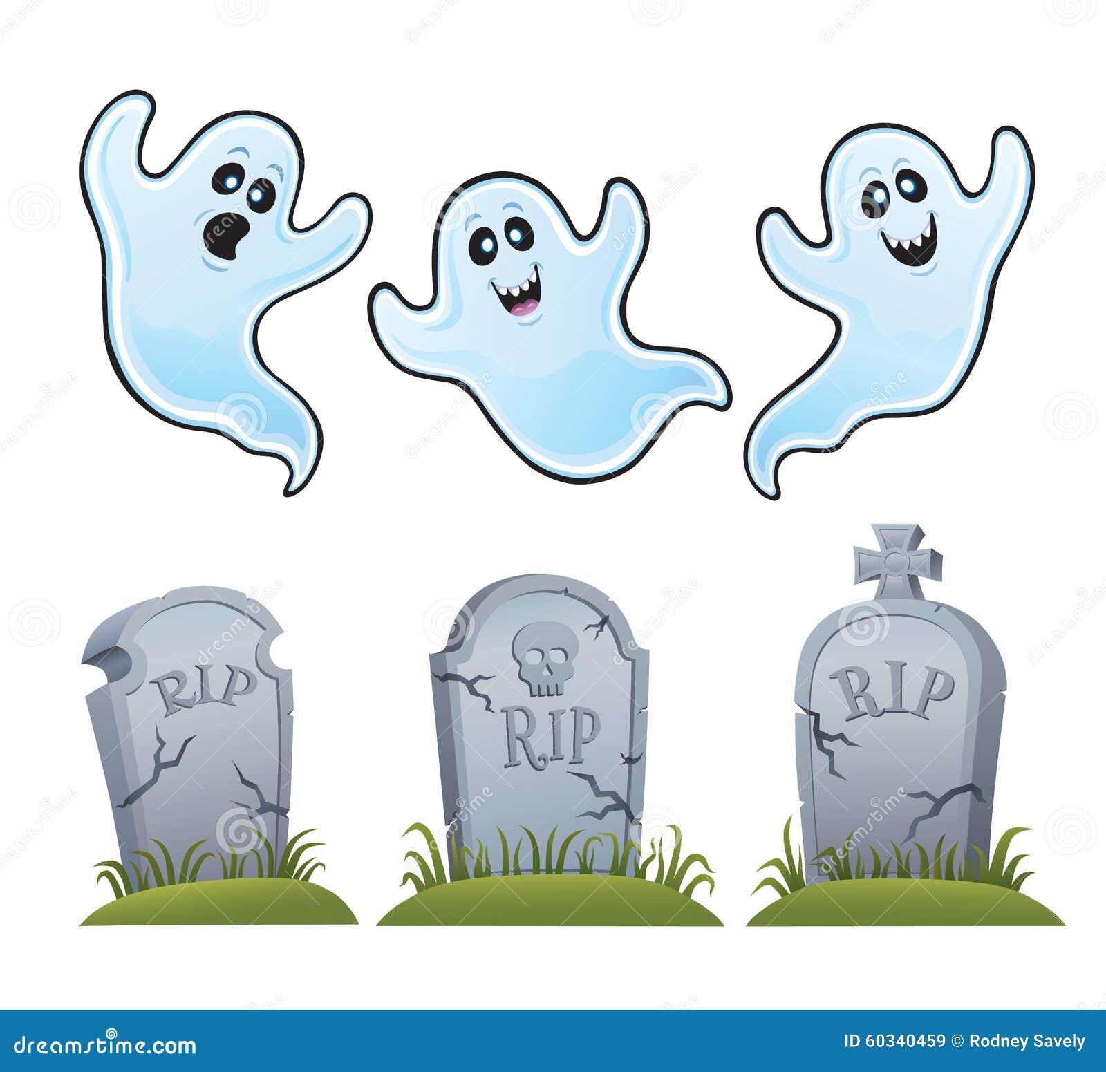 Φαντάσματα και ταφόπετρες