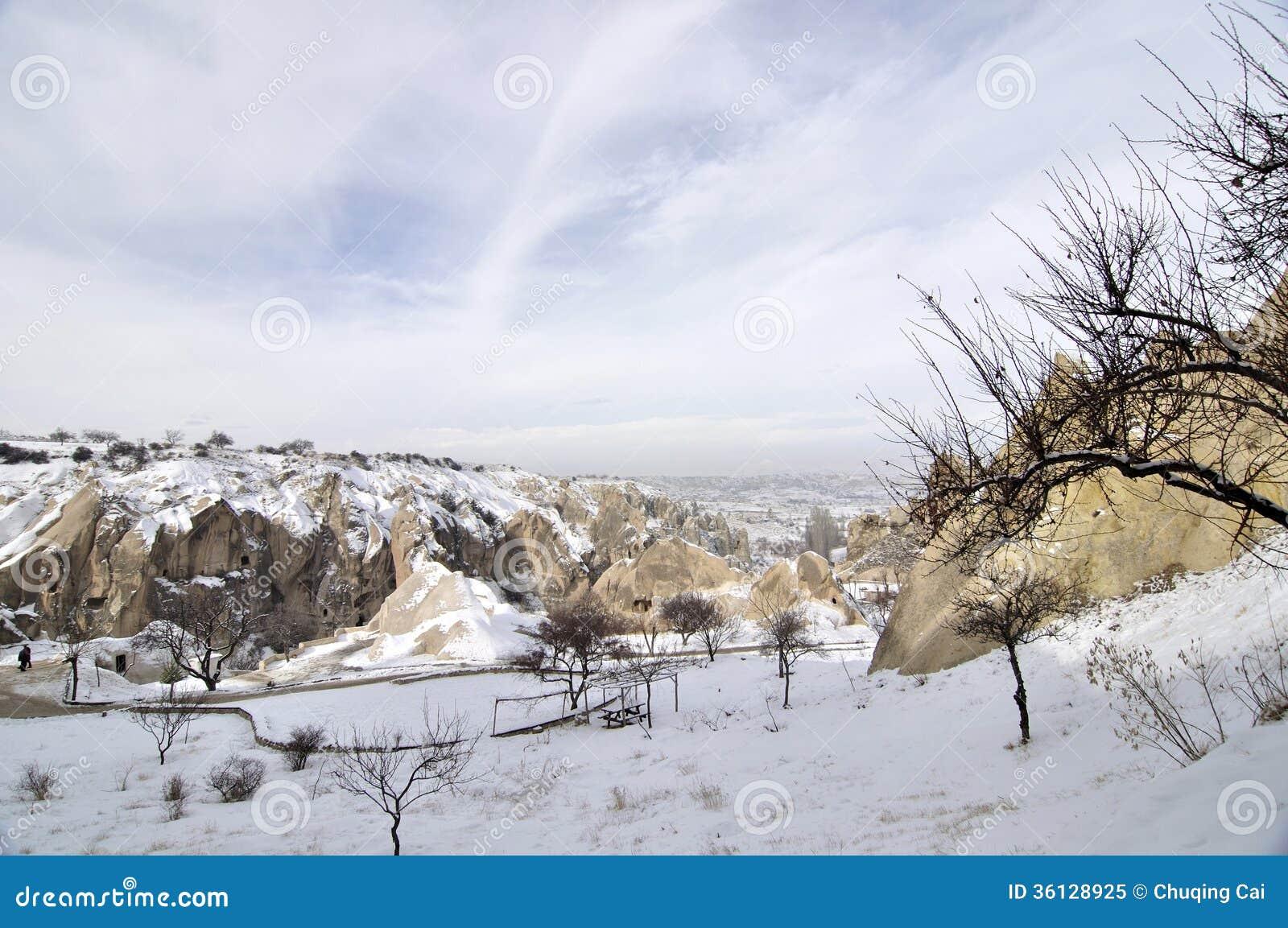 Φαντασιόπληκτος ασβεστόλιθος σε Cappadocia