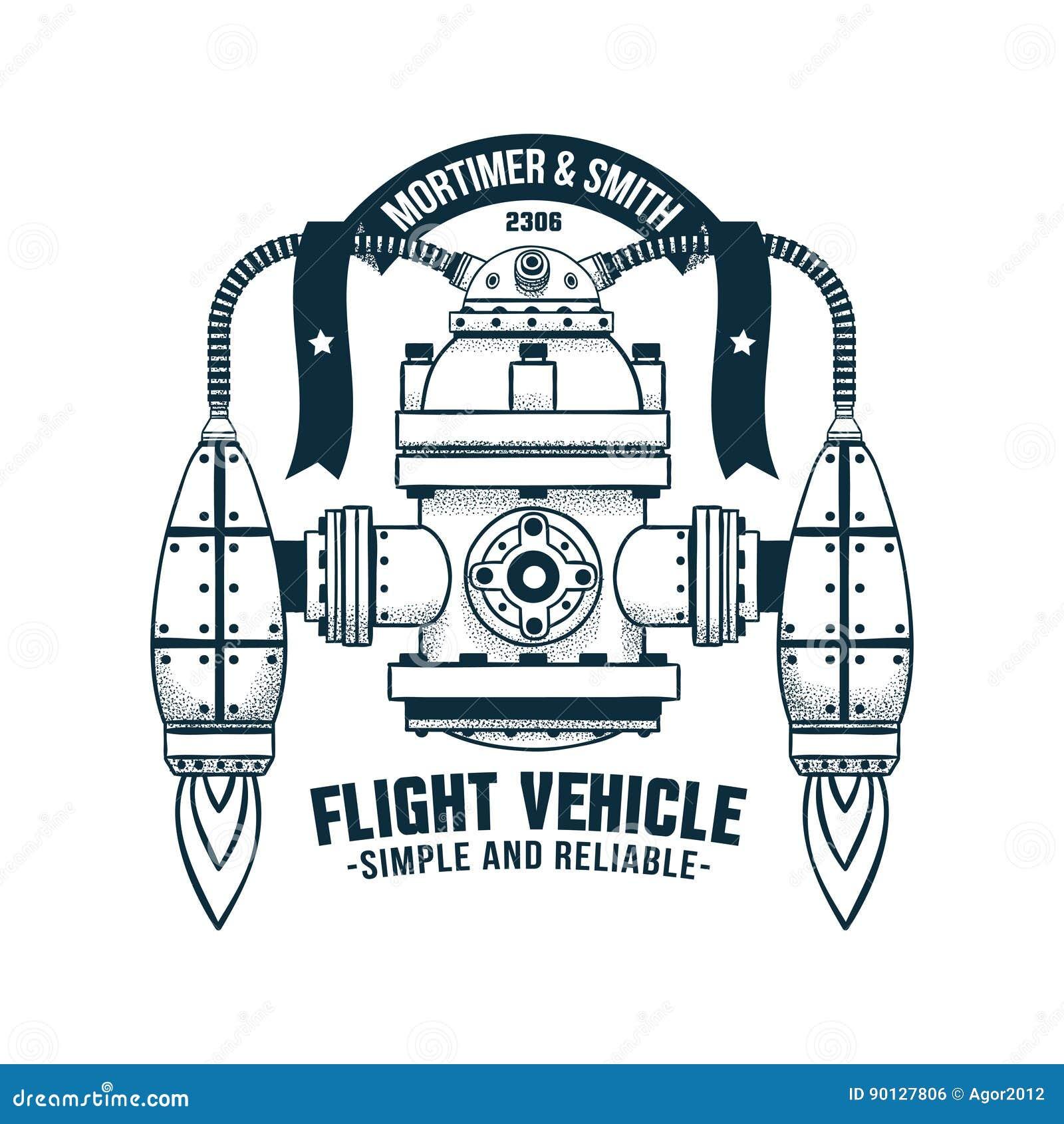 Φανταστική πετώντας μηχανή