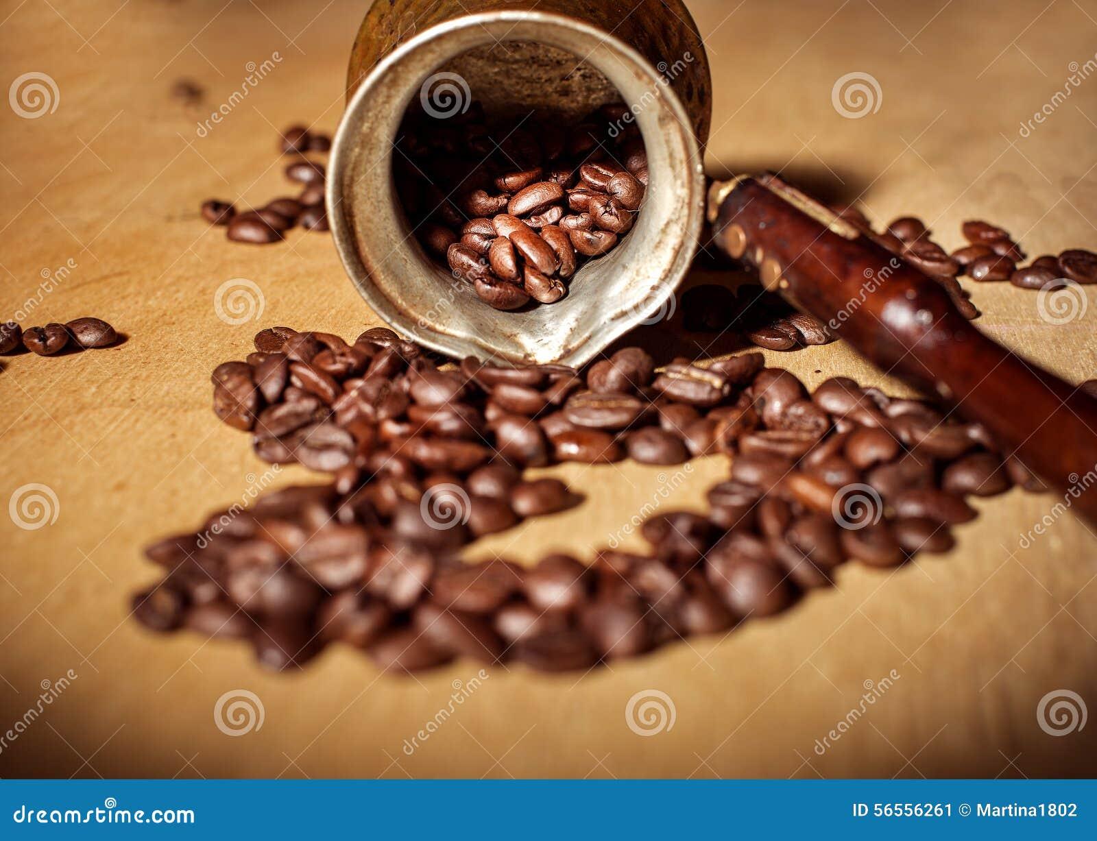Download Φασόλια Τούρκου και καφέ στοκ εικόνα. εικόνα από ανασκόπησης - 56556261