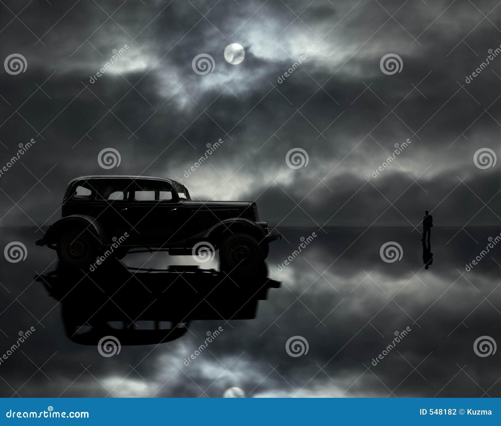 φεγγάρι ατόμων αυτοκινήτω