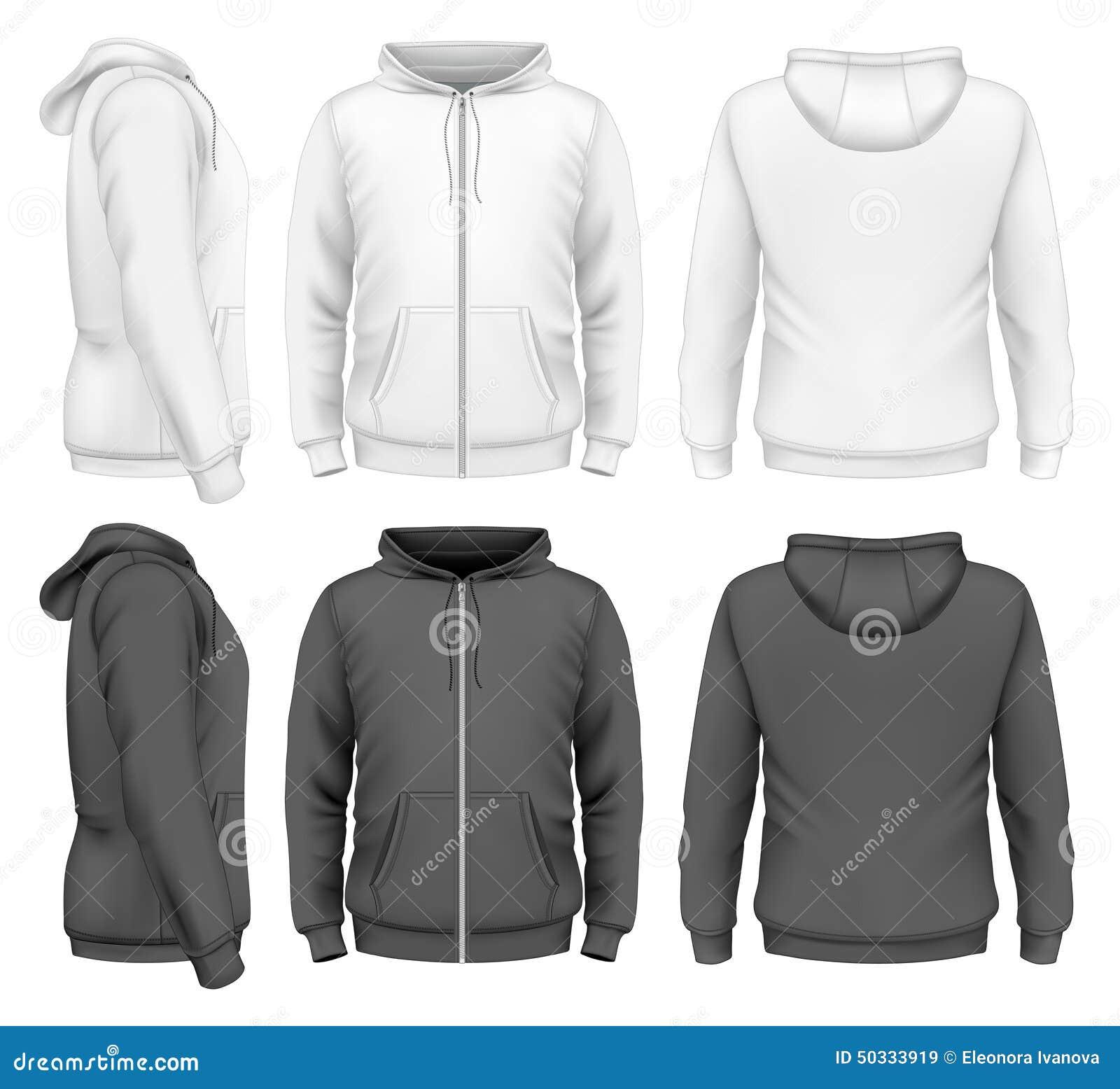 Φερμουάρ ατόμων hoodie