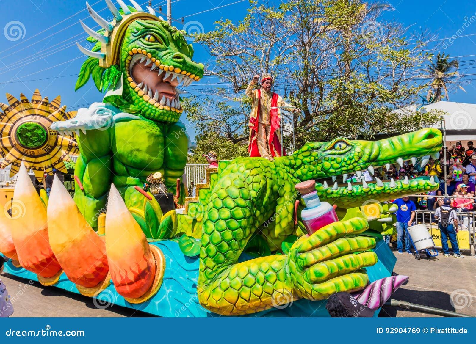 Φεστιβάλ καρναβαλιού παρελάσεων του Barranquilla Atlantico Κολομβία