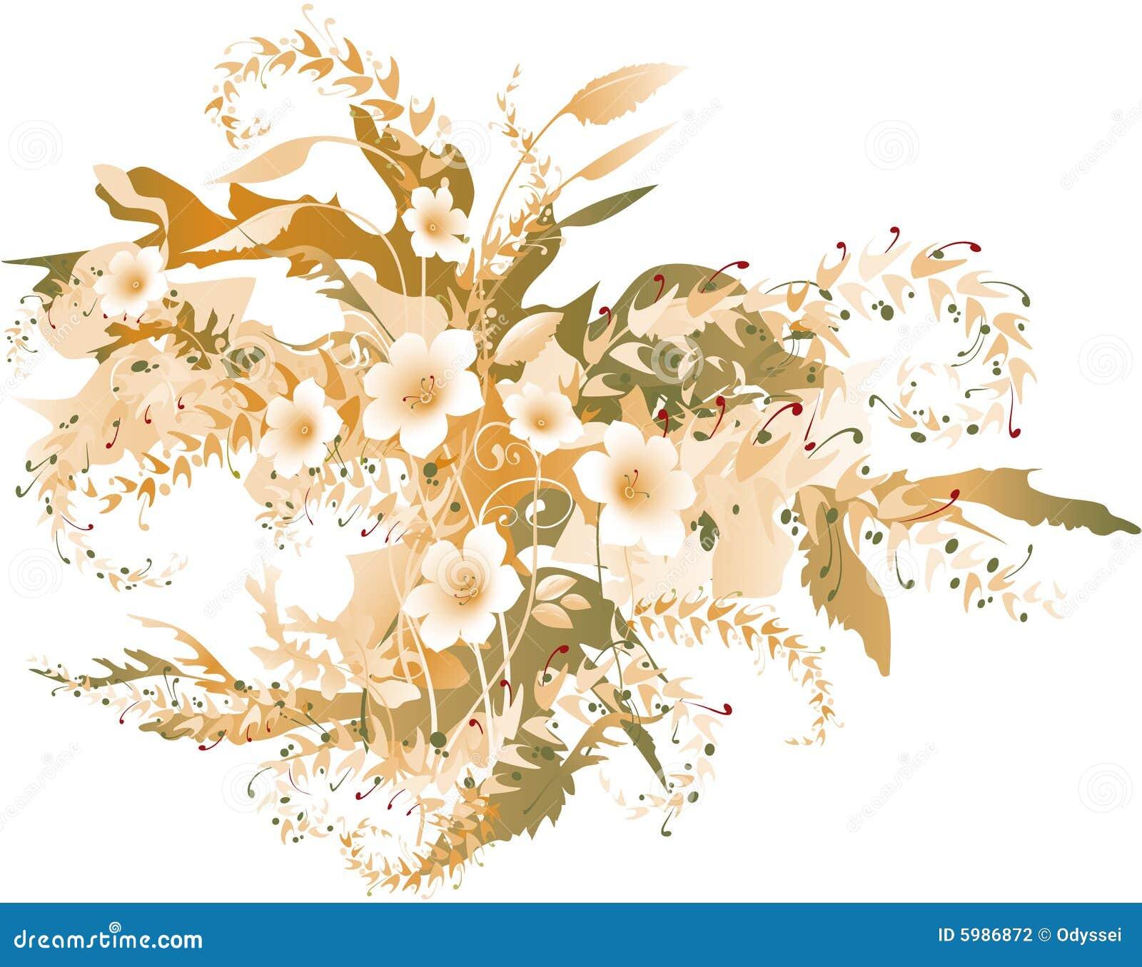 φθινοπωρινά λεπτά λουλούδια