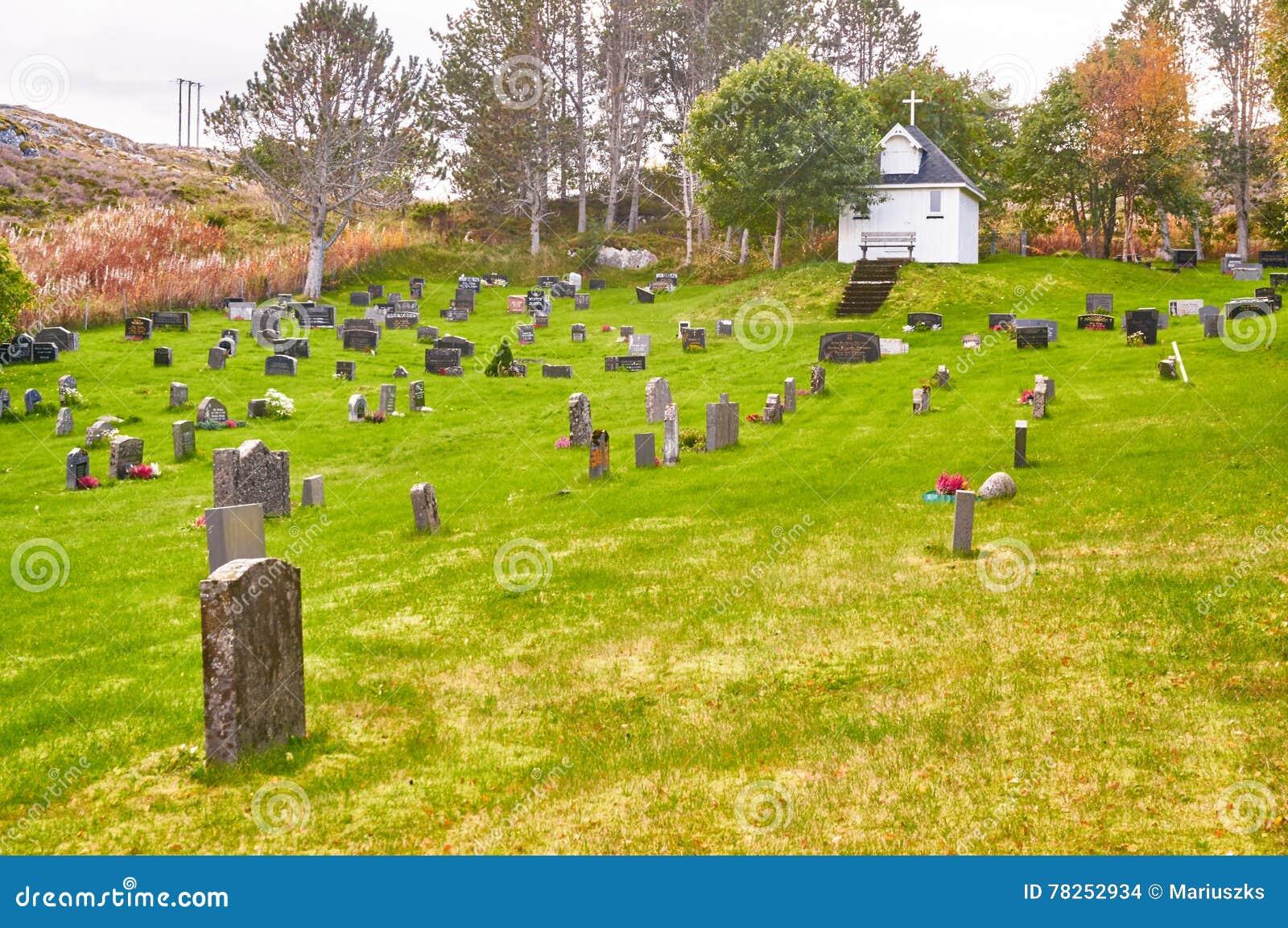 Φθινόπωρο στο νορβηγικό νεκροταφείο
