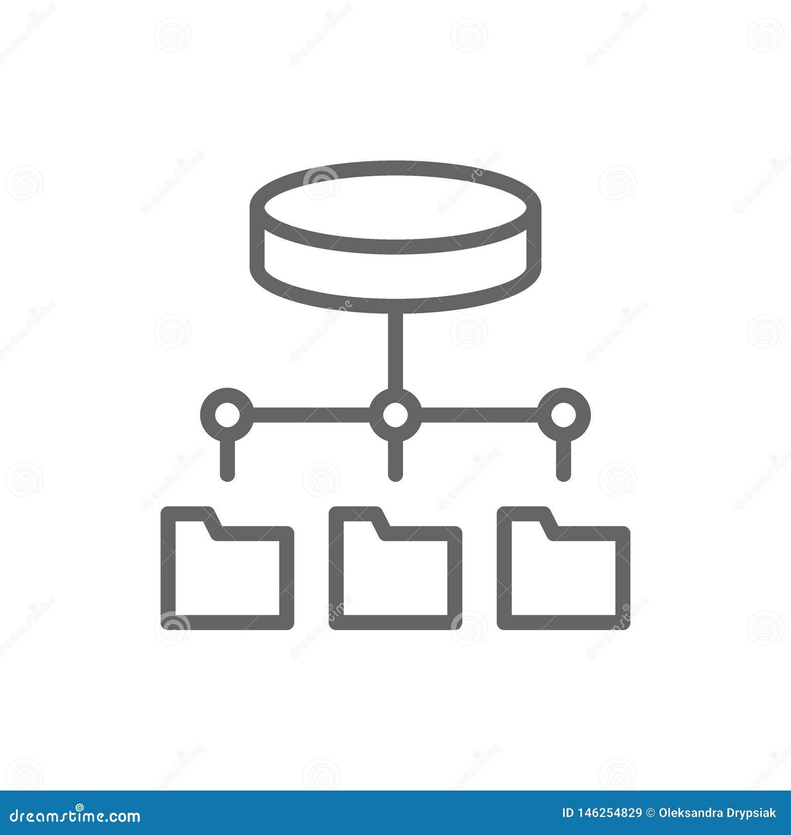Φιλοξενία φακέλλων, κεντρικός υπολογιστής FTP, ενημέρωση λογισμικού, εικονίδιο γραμμών αποθήκευσης στοιχείων