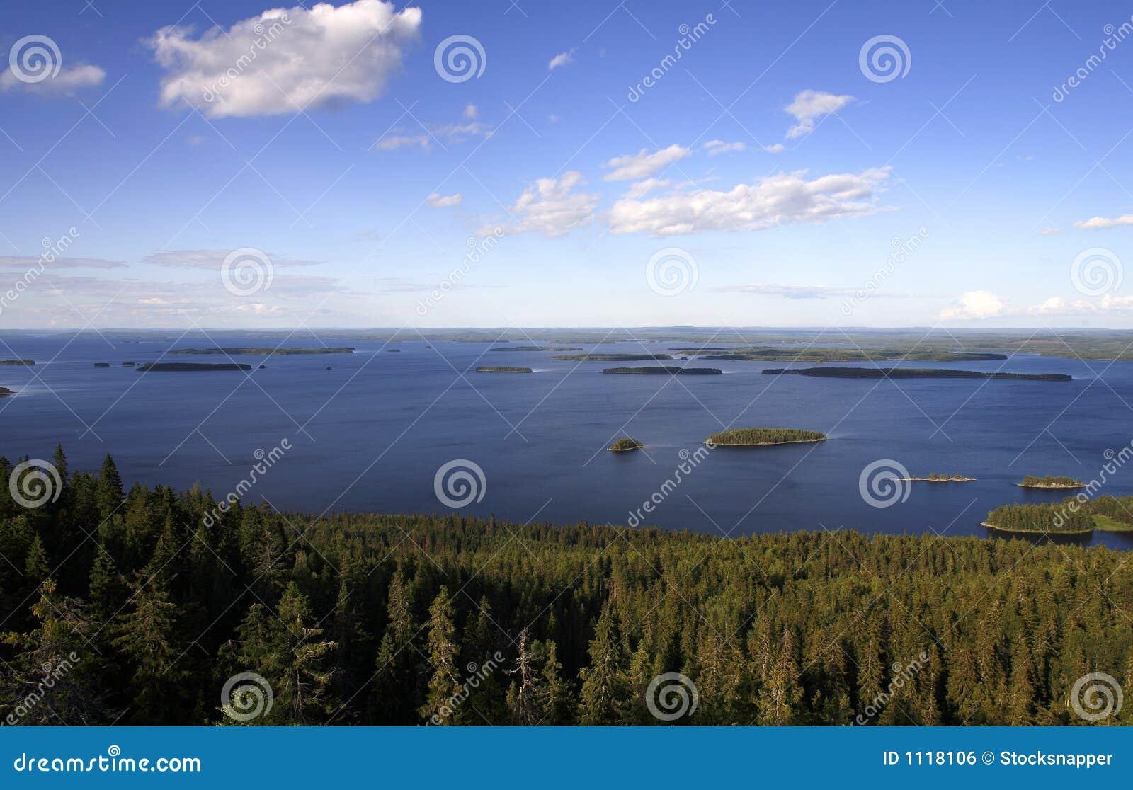 φινλανδική λίμνη