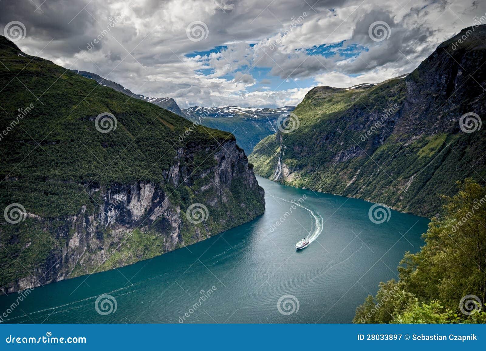 Φιορδ Geiranger, Νορβηγία
