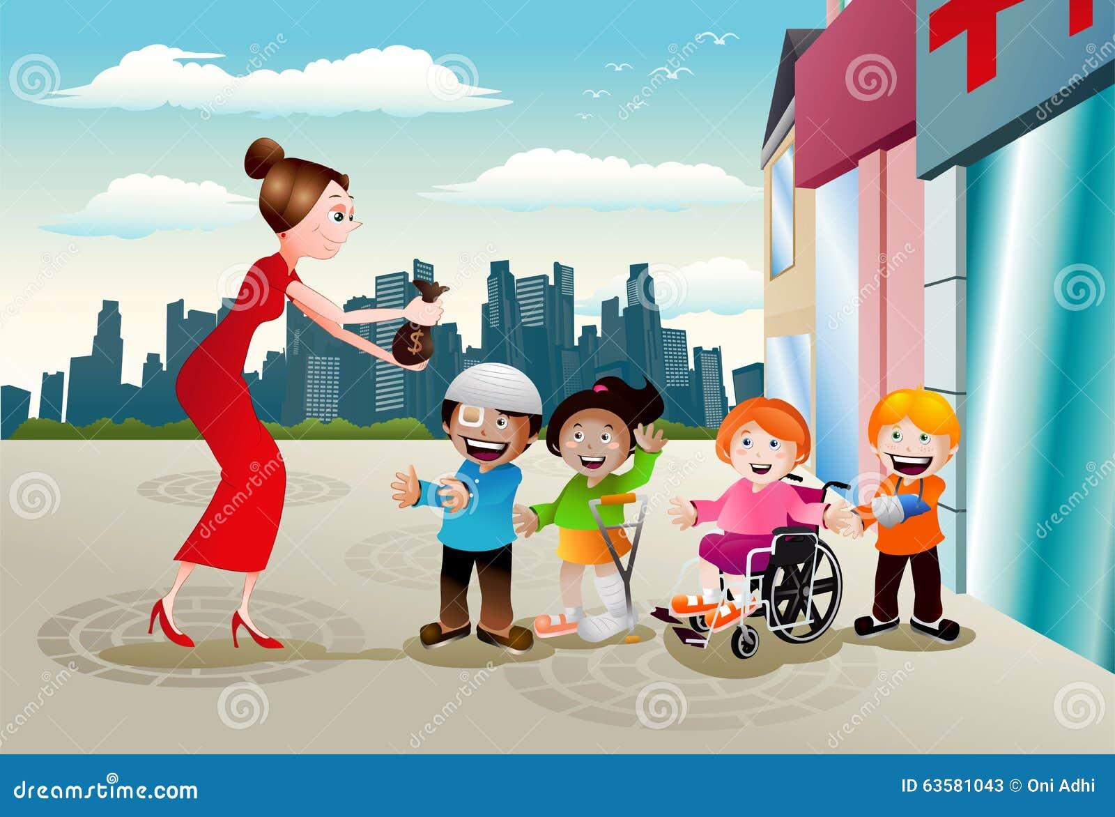 Φιλανθρωπία για την υγεία παιδιών
