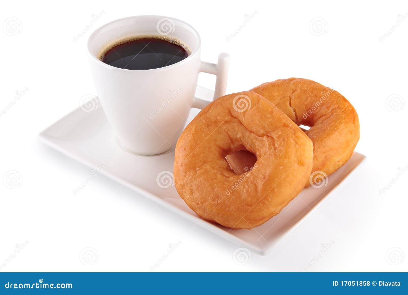 φλυτζάνι καφέ donuts