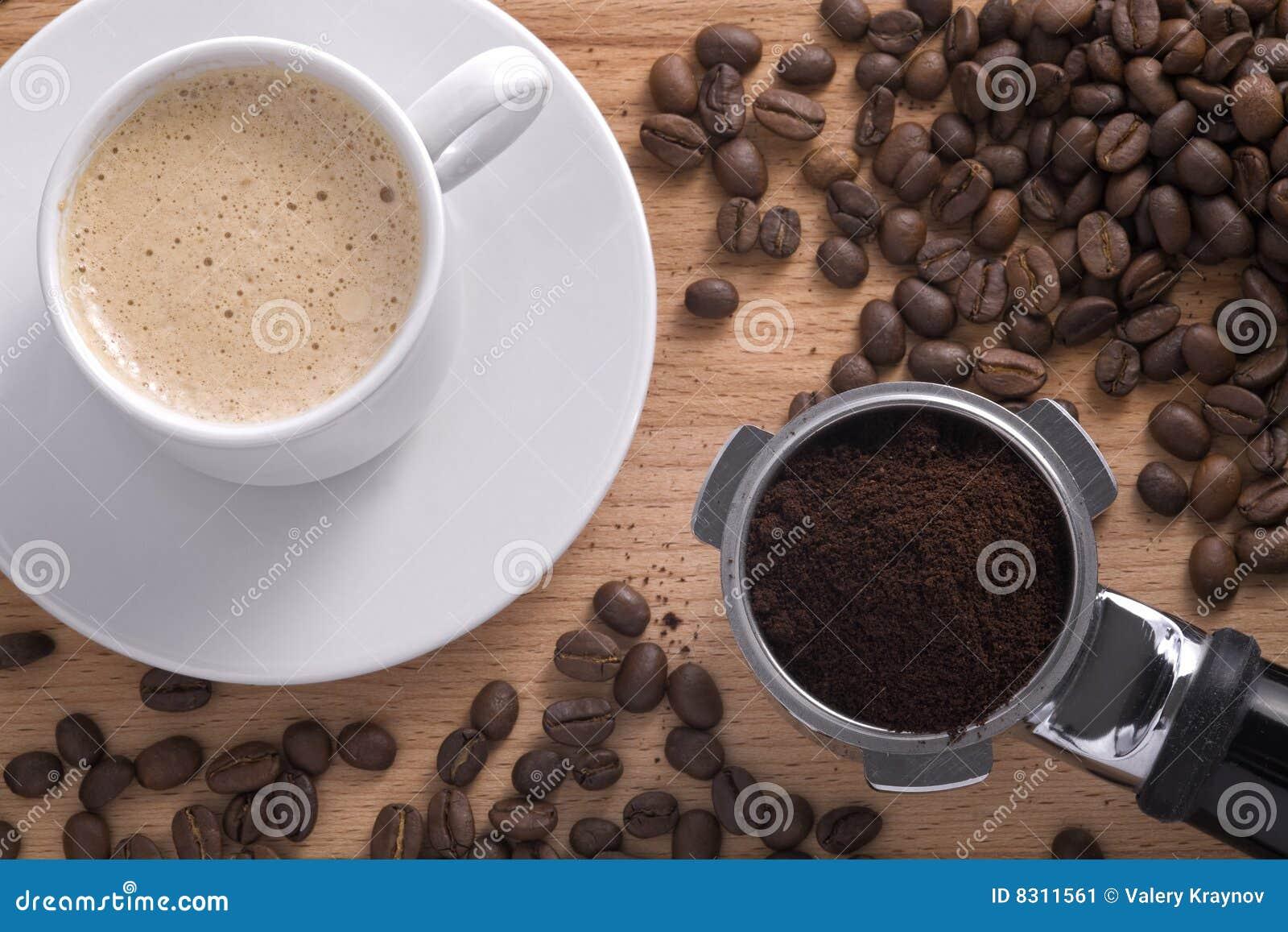 φλυτζάνι σύνθεσης καφέ