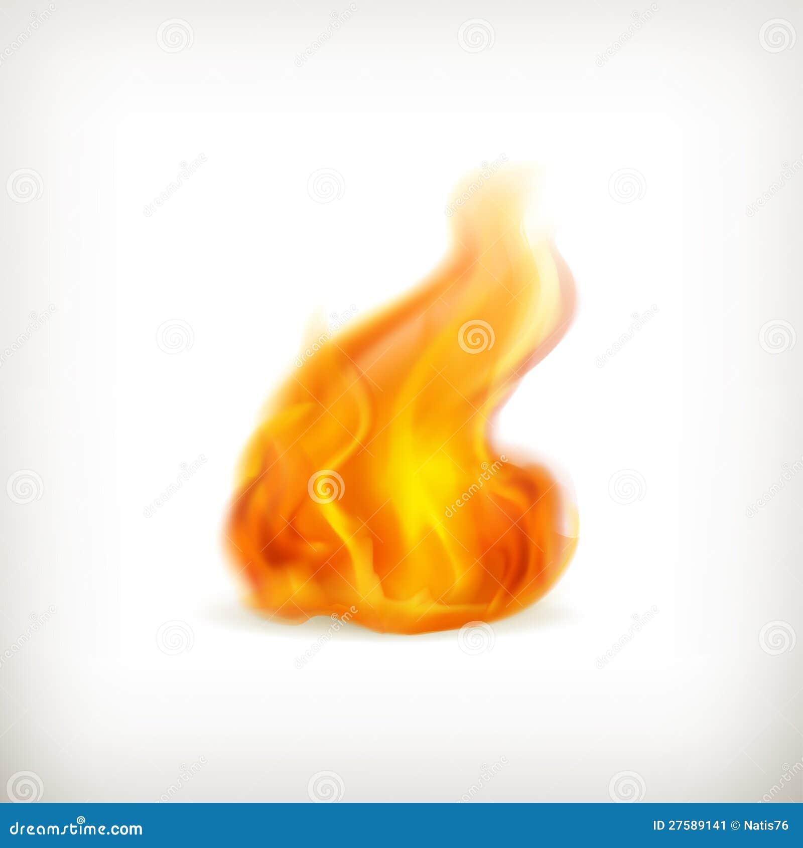 Φλόγα, εικονίδιο