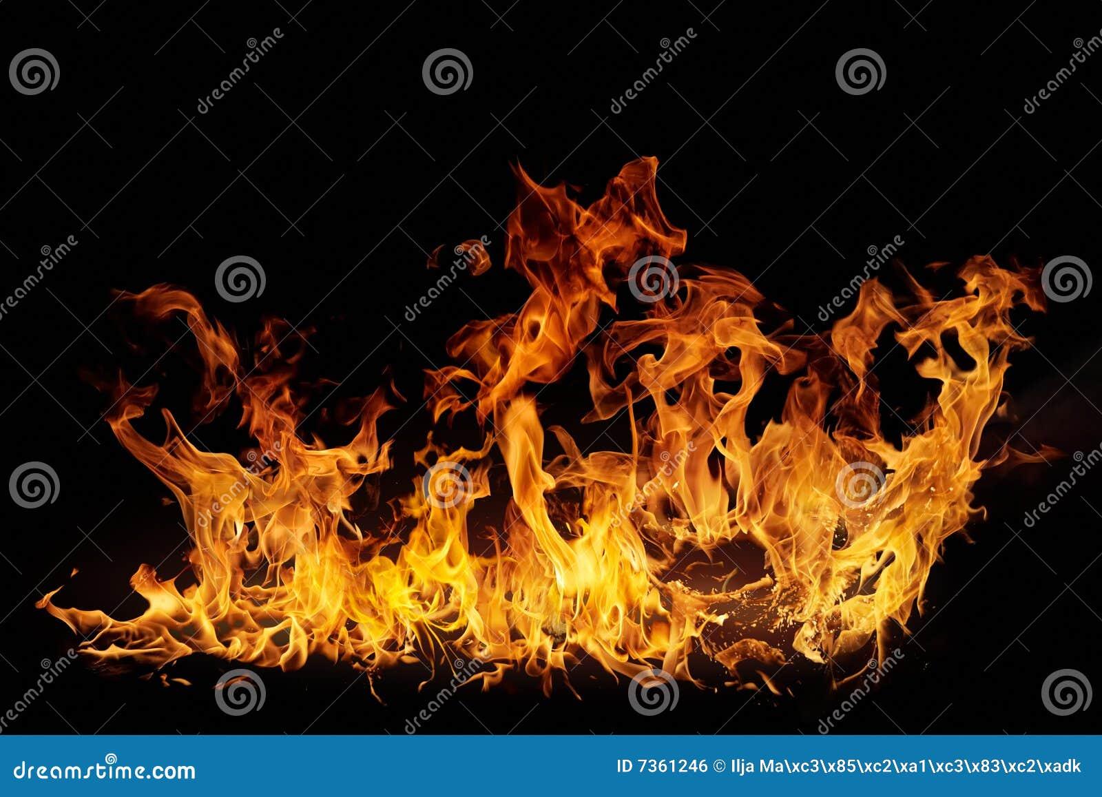 φλόγες που απομονώνονται