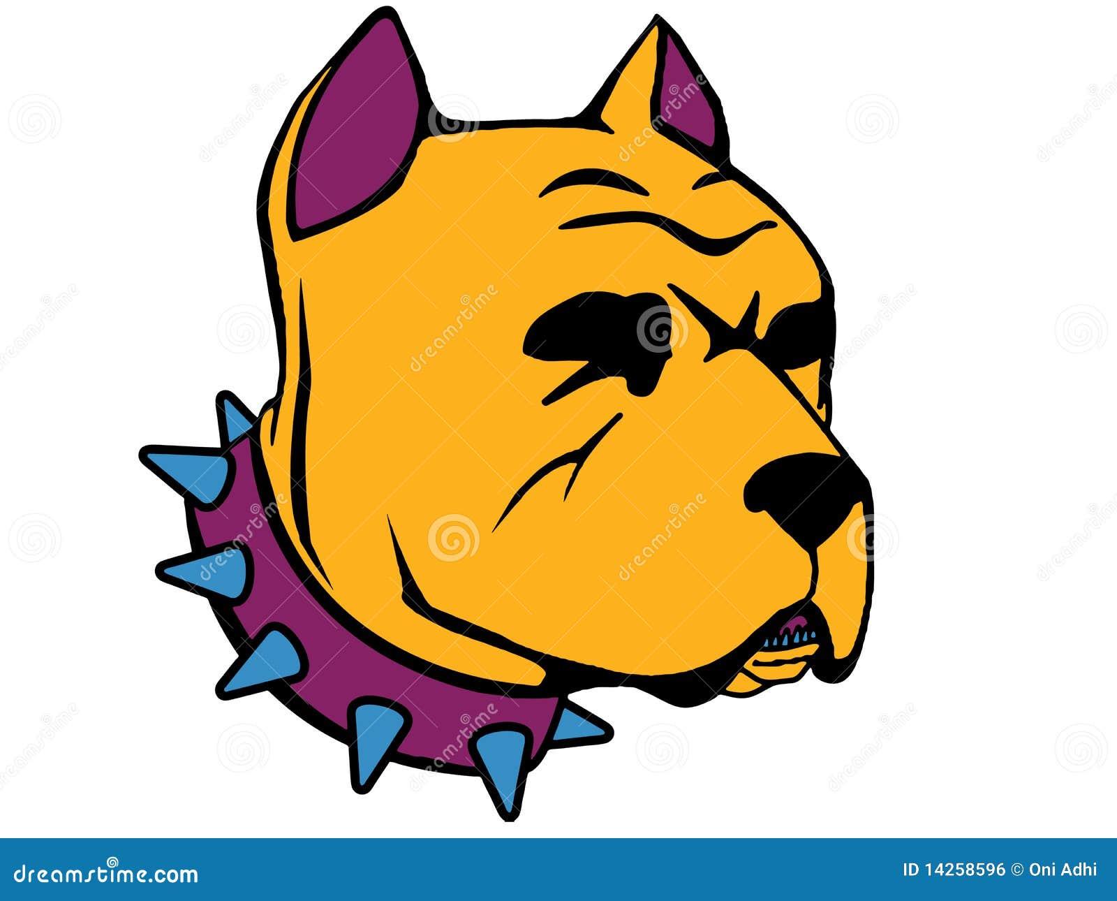 φοβερό pitbull
