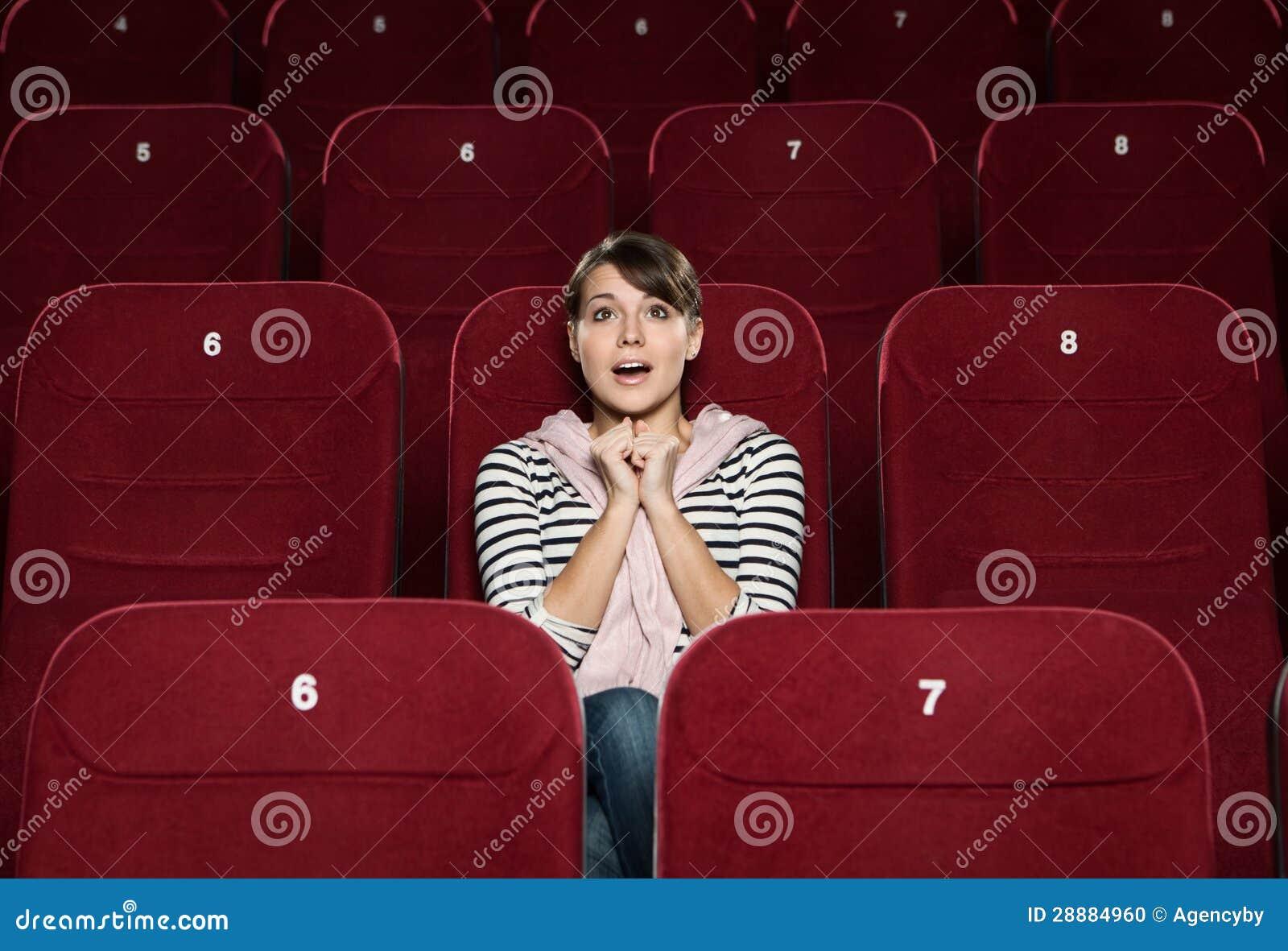 Φοβιτσιάρης γυναίκα στον κινηματογράφο