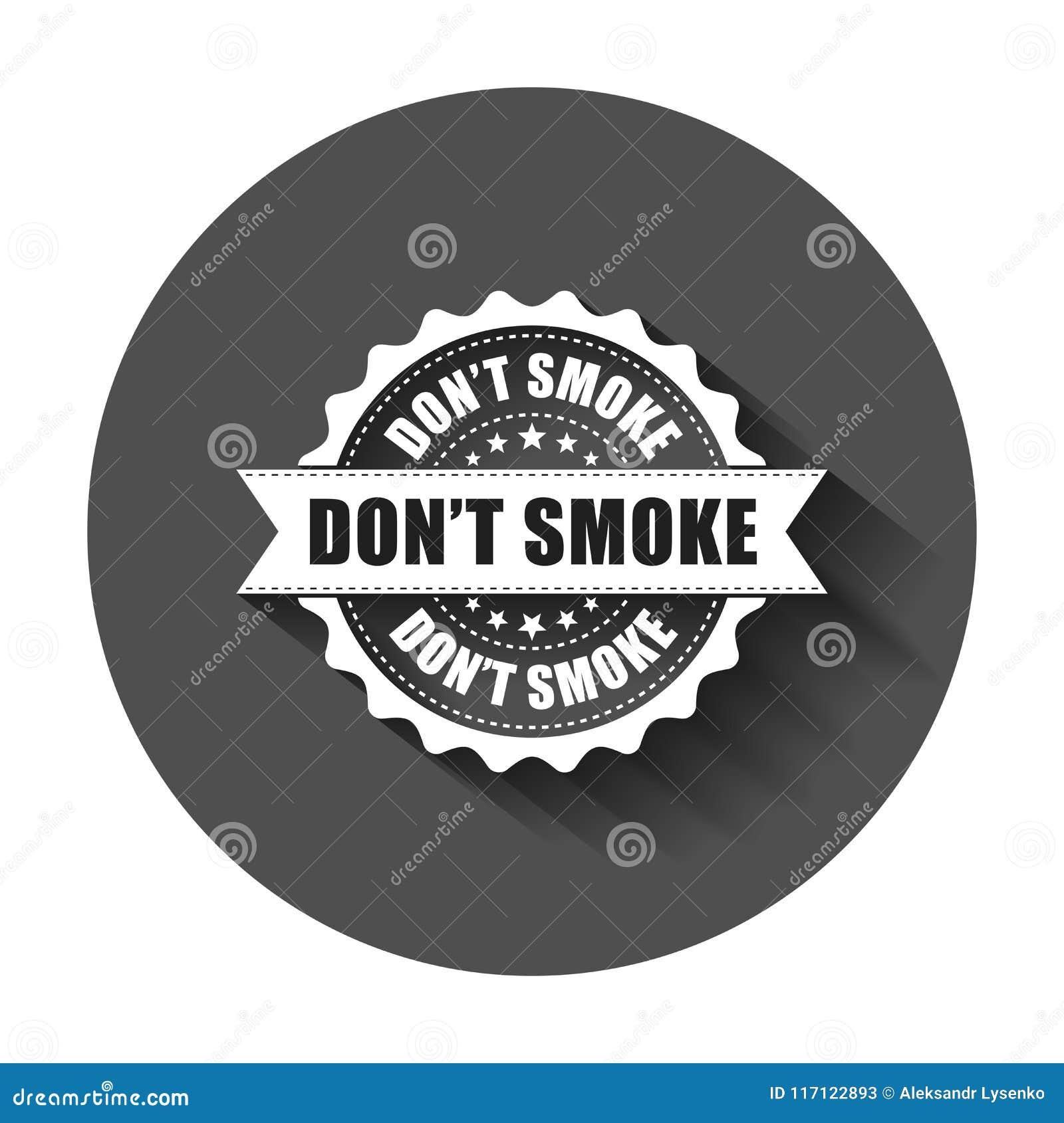 Φορέστε τη σφραγίδα καπνού ` τ grunge Διανυσματική απεικόνιση με το μακροχρόνιο s