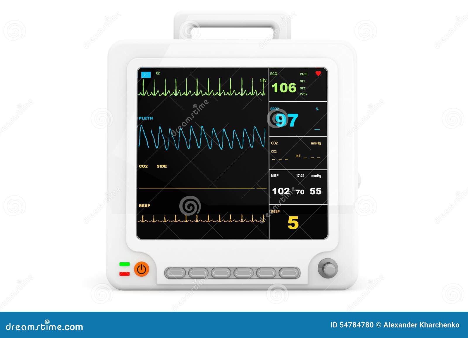 Φορητός καρδιακός εξοπλισμός ελέγχου υγειονομικής περίθαλψης