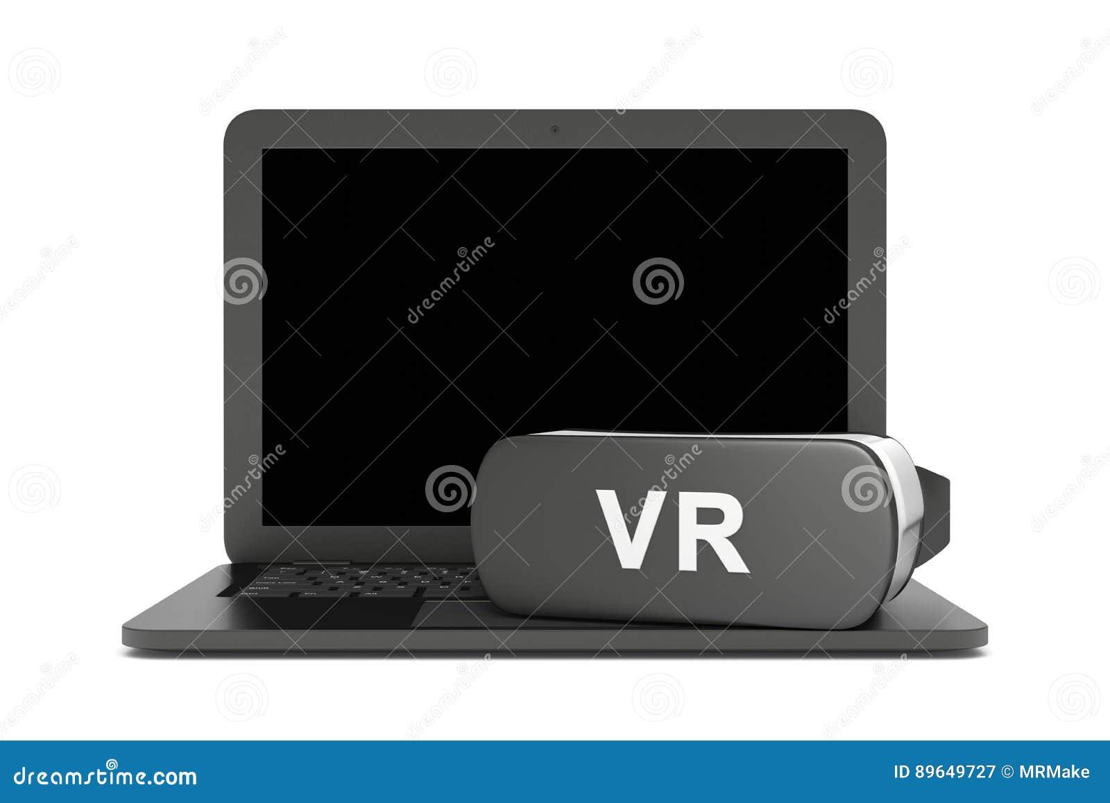 Φορητός προσωπικός υπολογιστής εικονικής πραγματικότητας