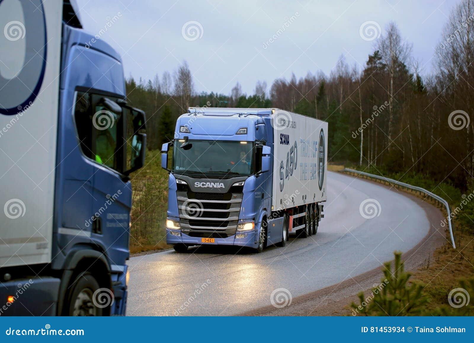 Φορτηγά Scania επόμενης γενιάς στο τεστ δοκιμής