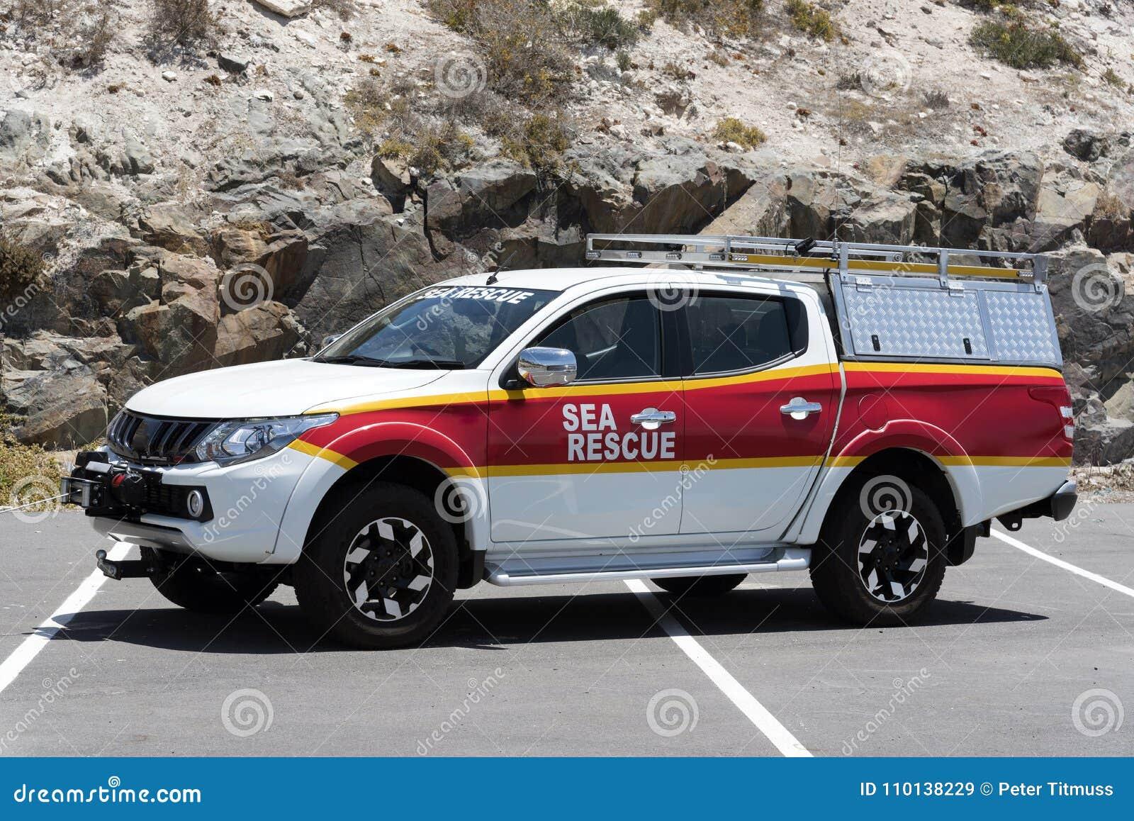 Φορτηγό διάσωσης ακτοφυλακών & θάλασσας Νοτιοαφρικανικά