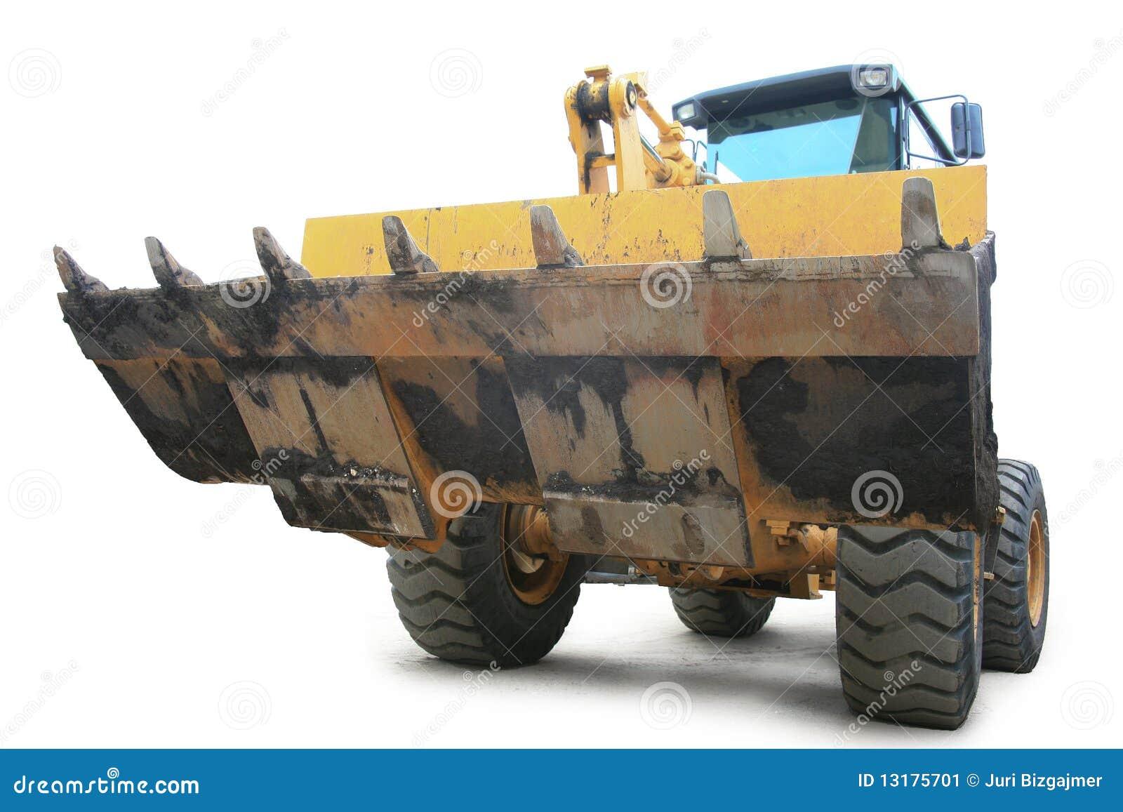 φορτωτής κίτρινος