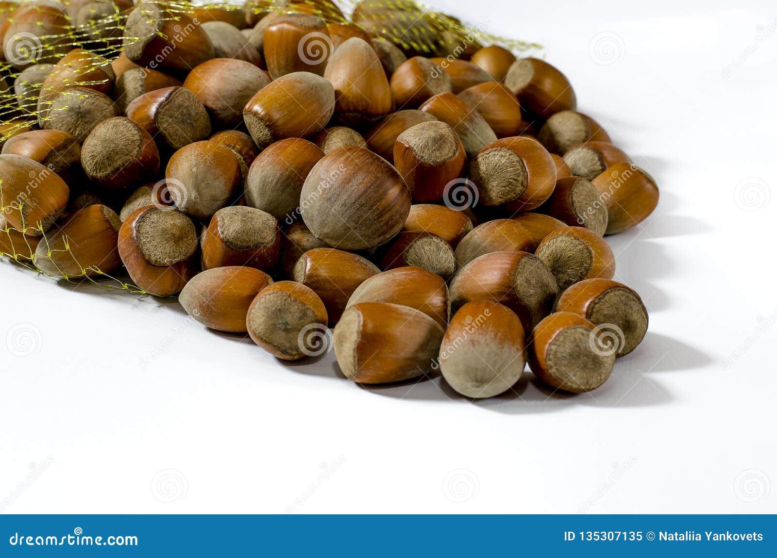 Φουντούκια Υπόβαθρο τροφίμων, ταπετσαρία φωτογραφιών Μακροεντολή καρυδιών