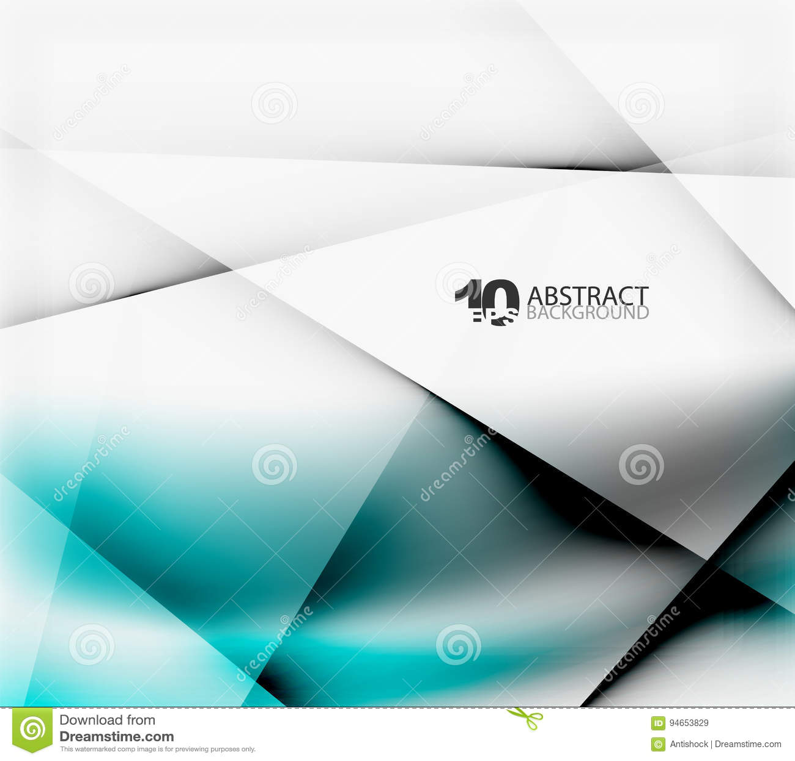 Φουτουριστικό θολωμένο πρότυπο υψηλής τεχνολογίας ή επιχειρήσεων