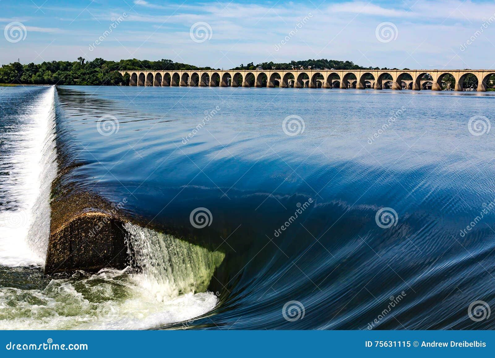 Φράγμα ποταμών Susquehanna στο Χάρισμπουργκ