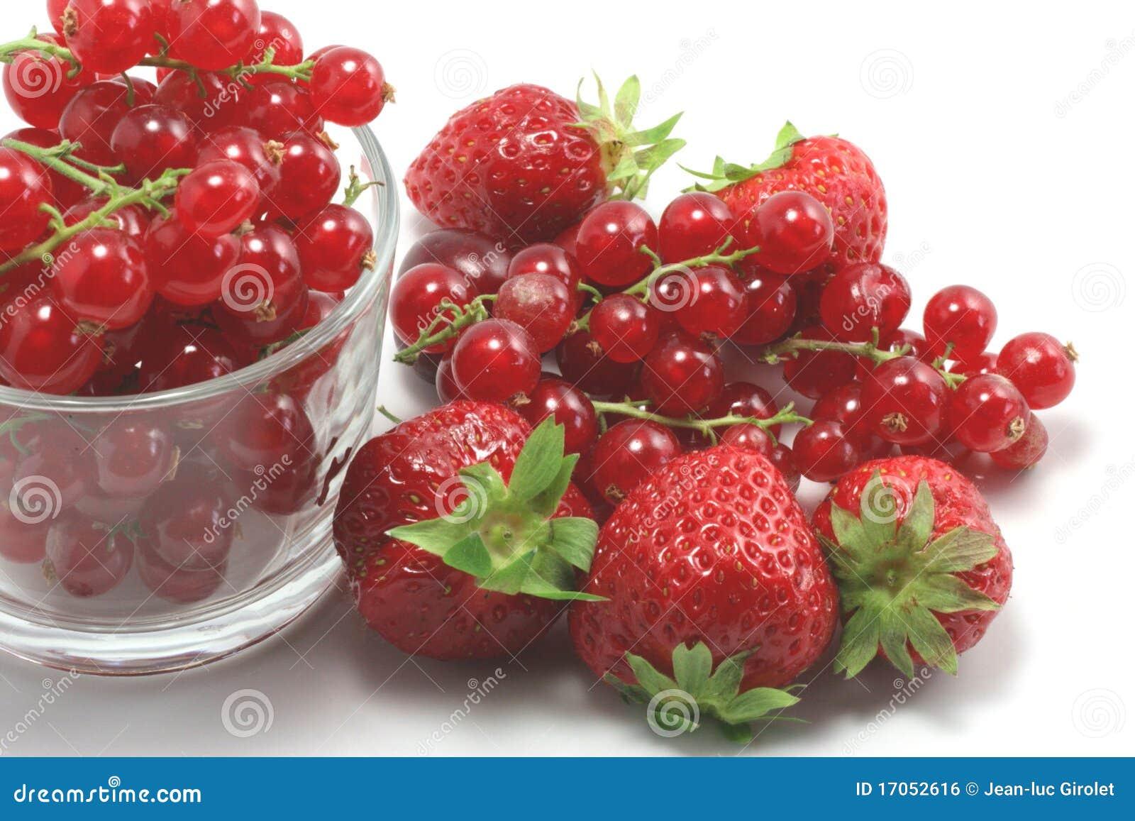 φράουλες σταφίδων
