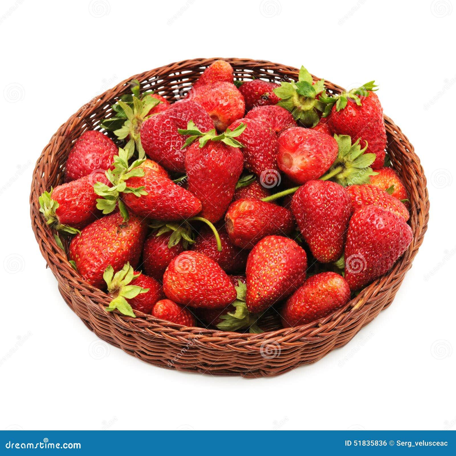 Φράουλα στο lug-κιβώτιο