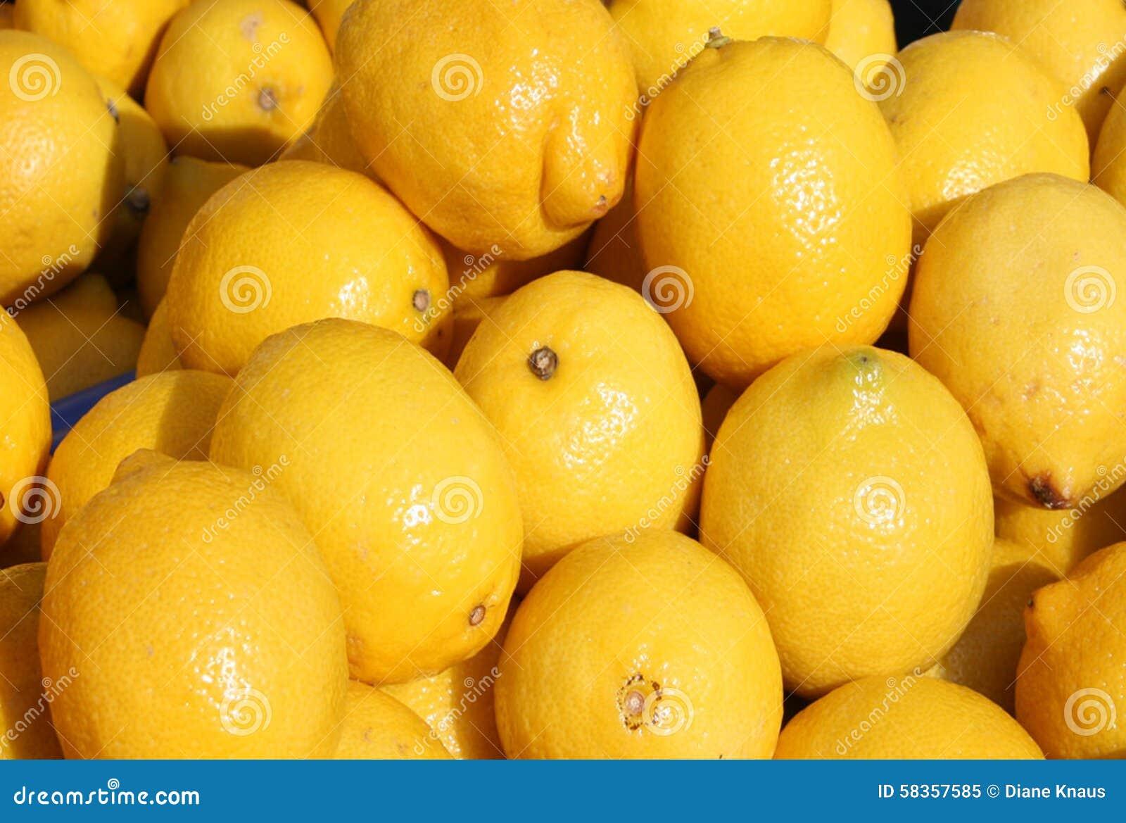 φρέσκα λεμόνια