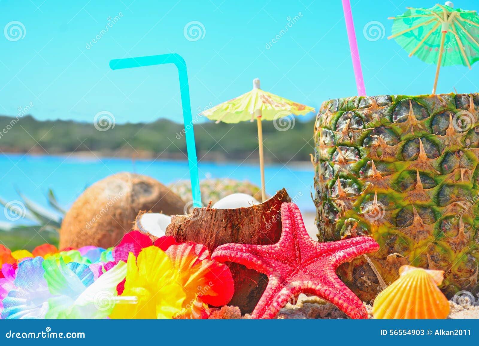 Download Φρέσκα τροπικά φρούτα θαλασσίως Στοκ Εικόνα - εικόνα από hawaiian, καρπός: 56554903