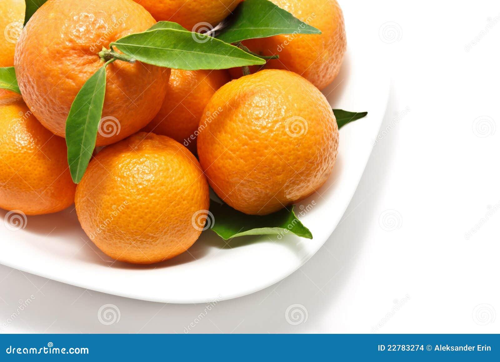 φρέσκα tangerines