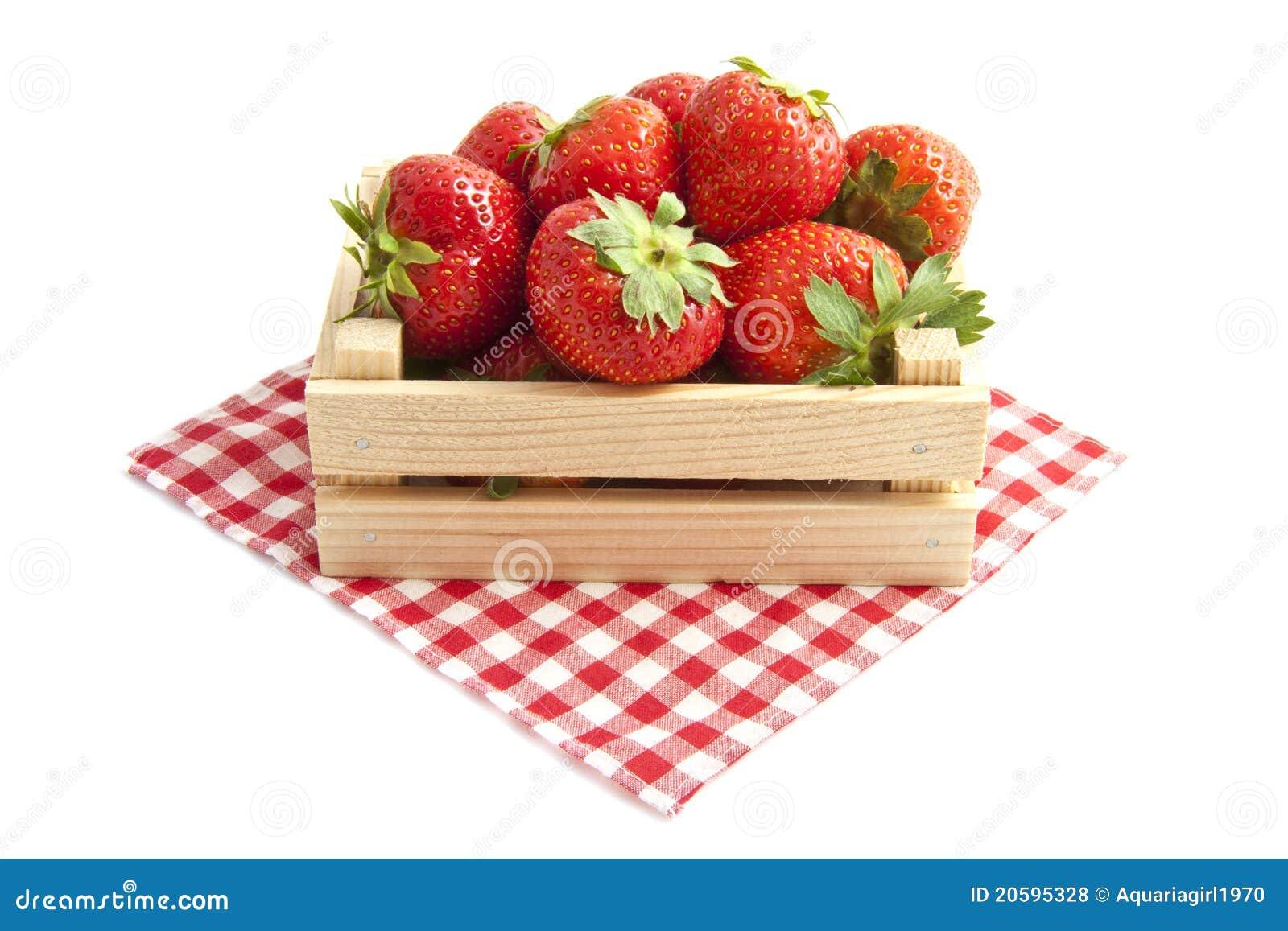φρέσκες φράουλες