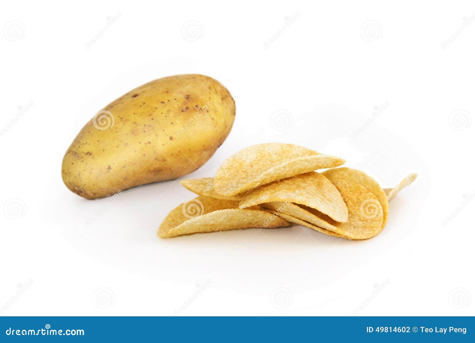Φρέσκια πατάτα με το τσιπ