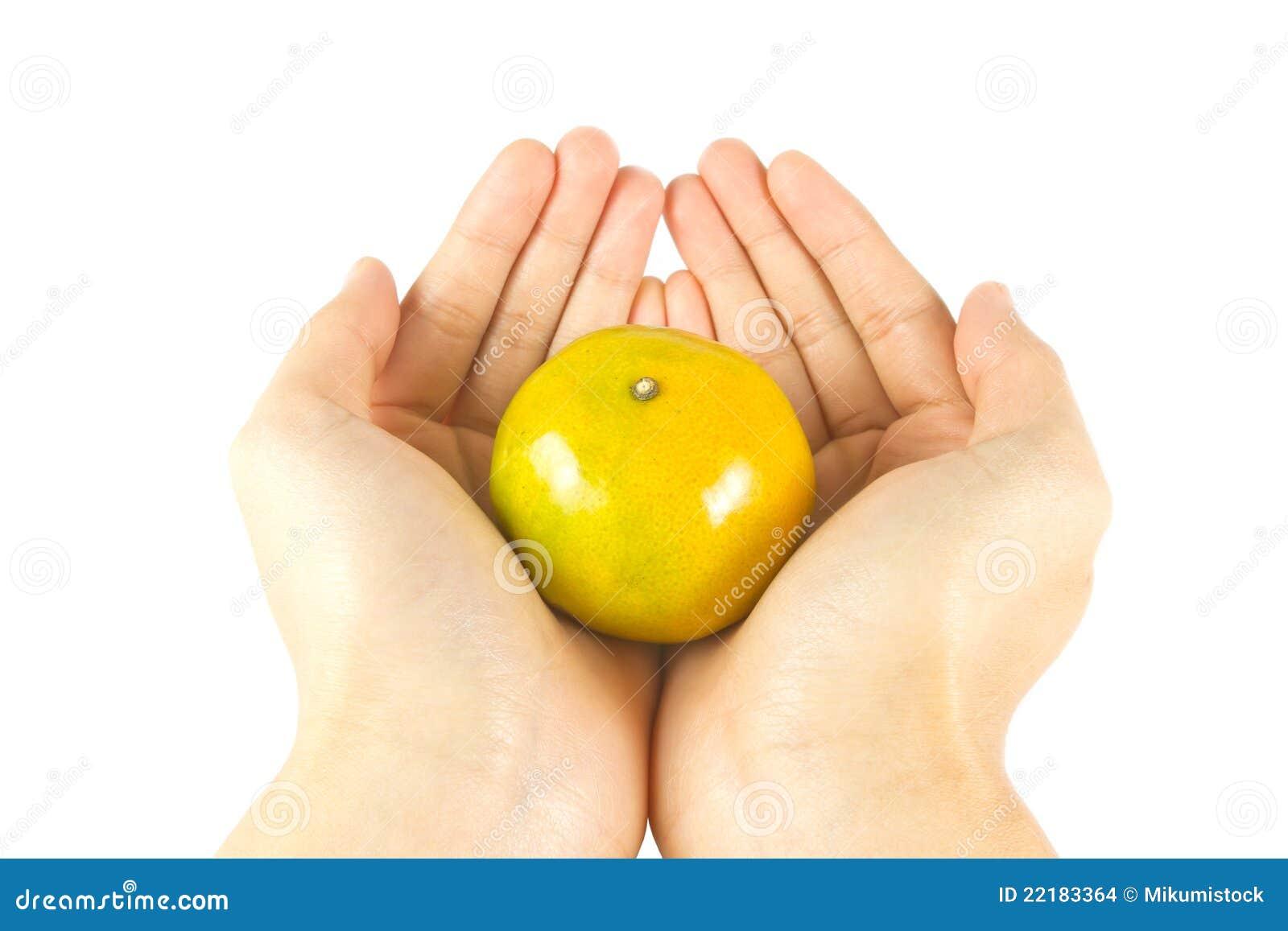 φρέσκος δώστε το πορτοκά&l
